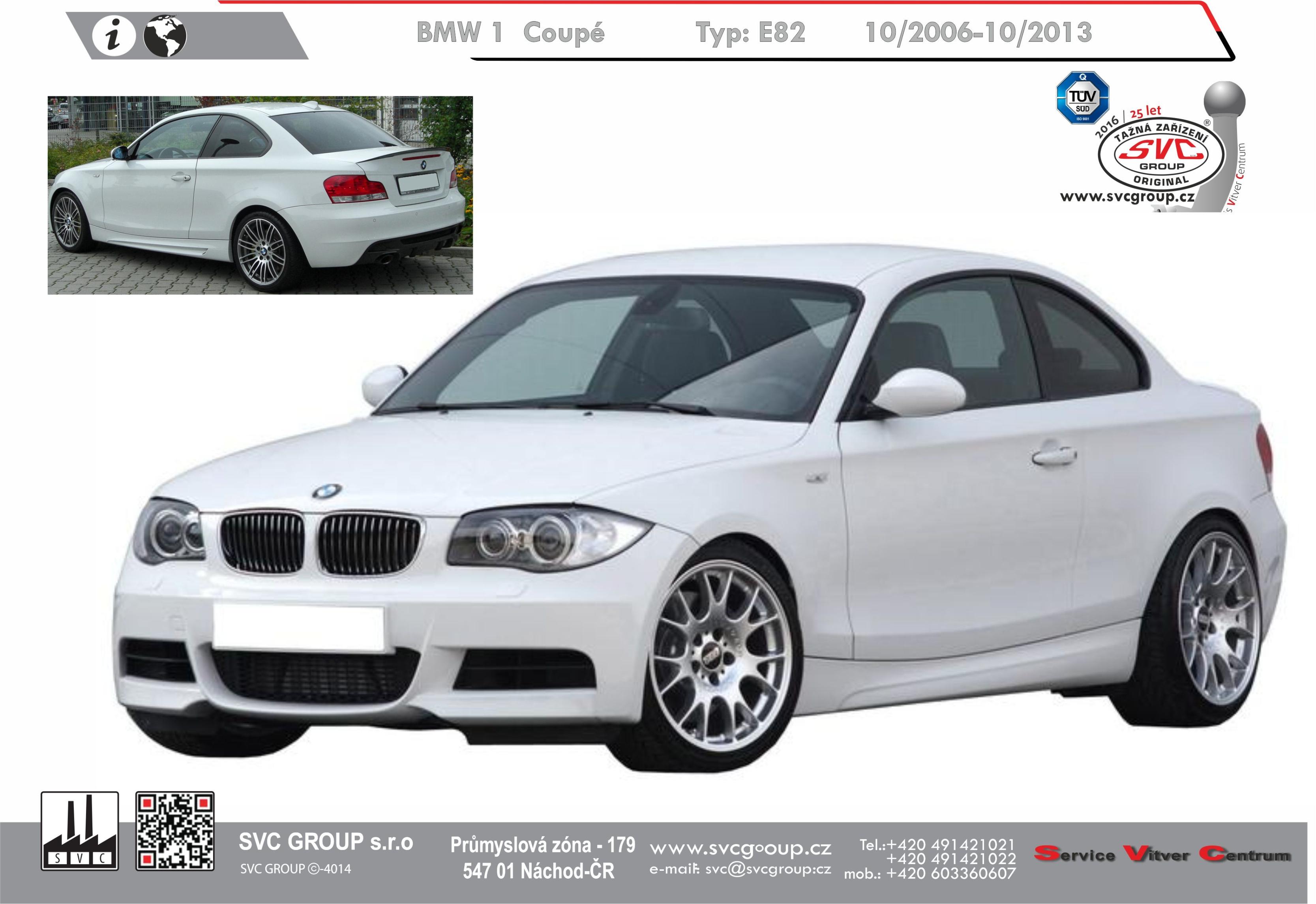 BMW 1 Série Kupé 2-dveře