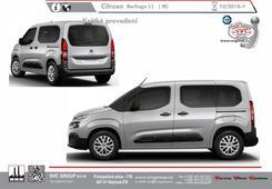 Citroen Berlingo Provedení L-1 Krátký rozvor náprav  Rok Výroby 10/2018 ->                            Výrobce tažných zařízení SVC GROUPd  Kód vozu:  7A/B/C/D/E/F/J/L/M/R