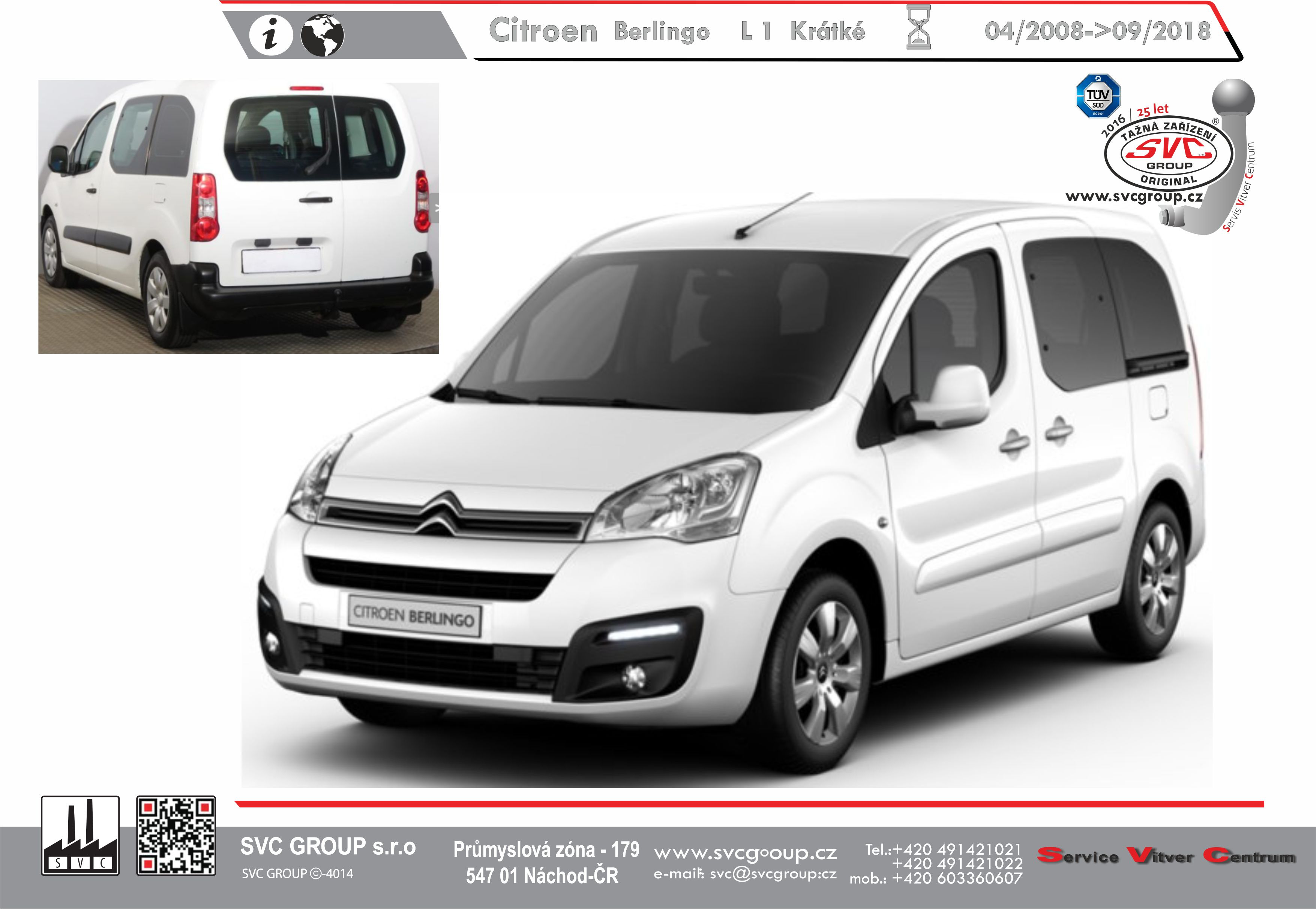 Citroën Berlingo L-1 Standardní - (L / M)