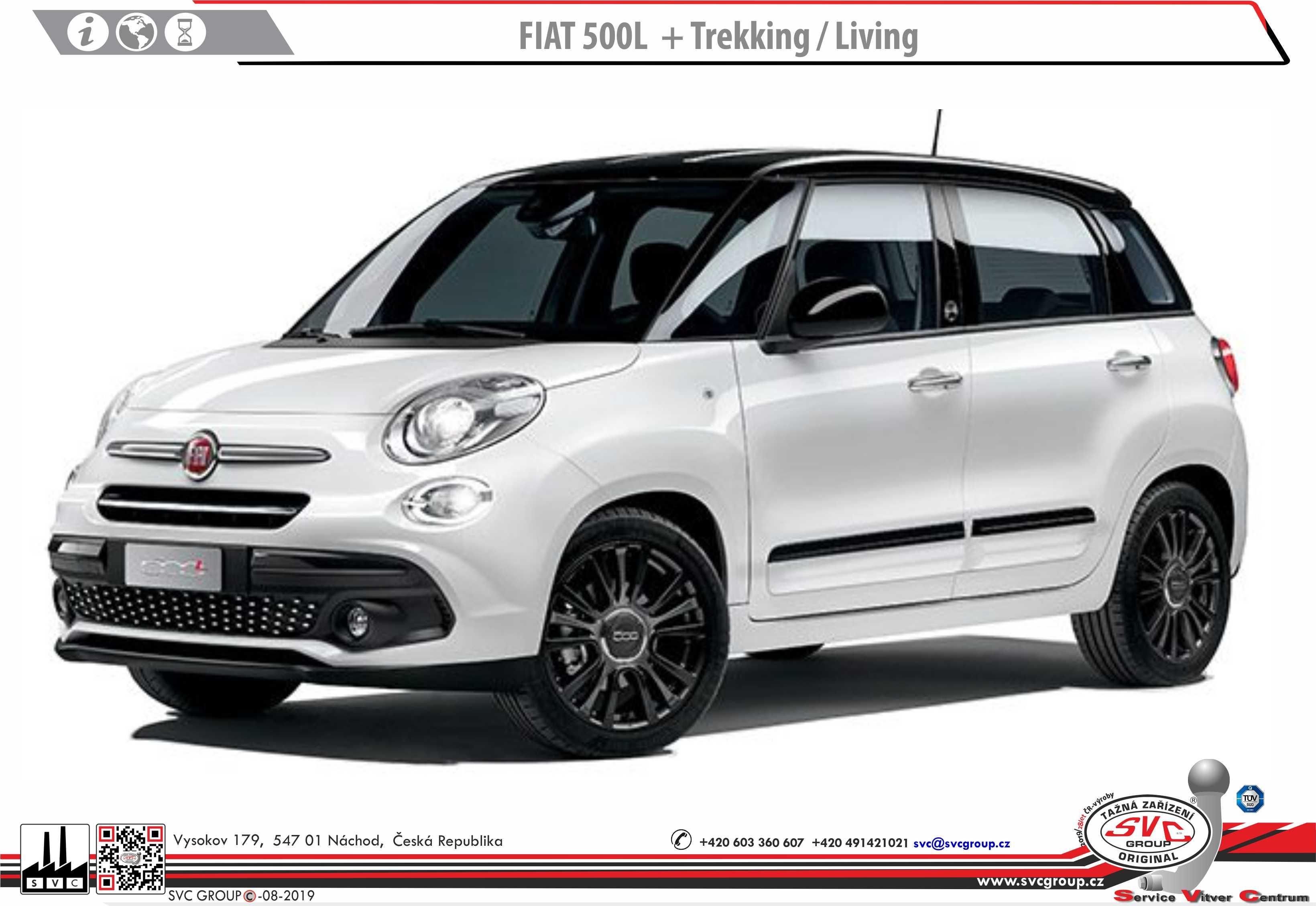 Fiat 500L + Trekking /  Living
