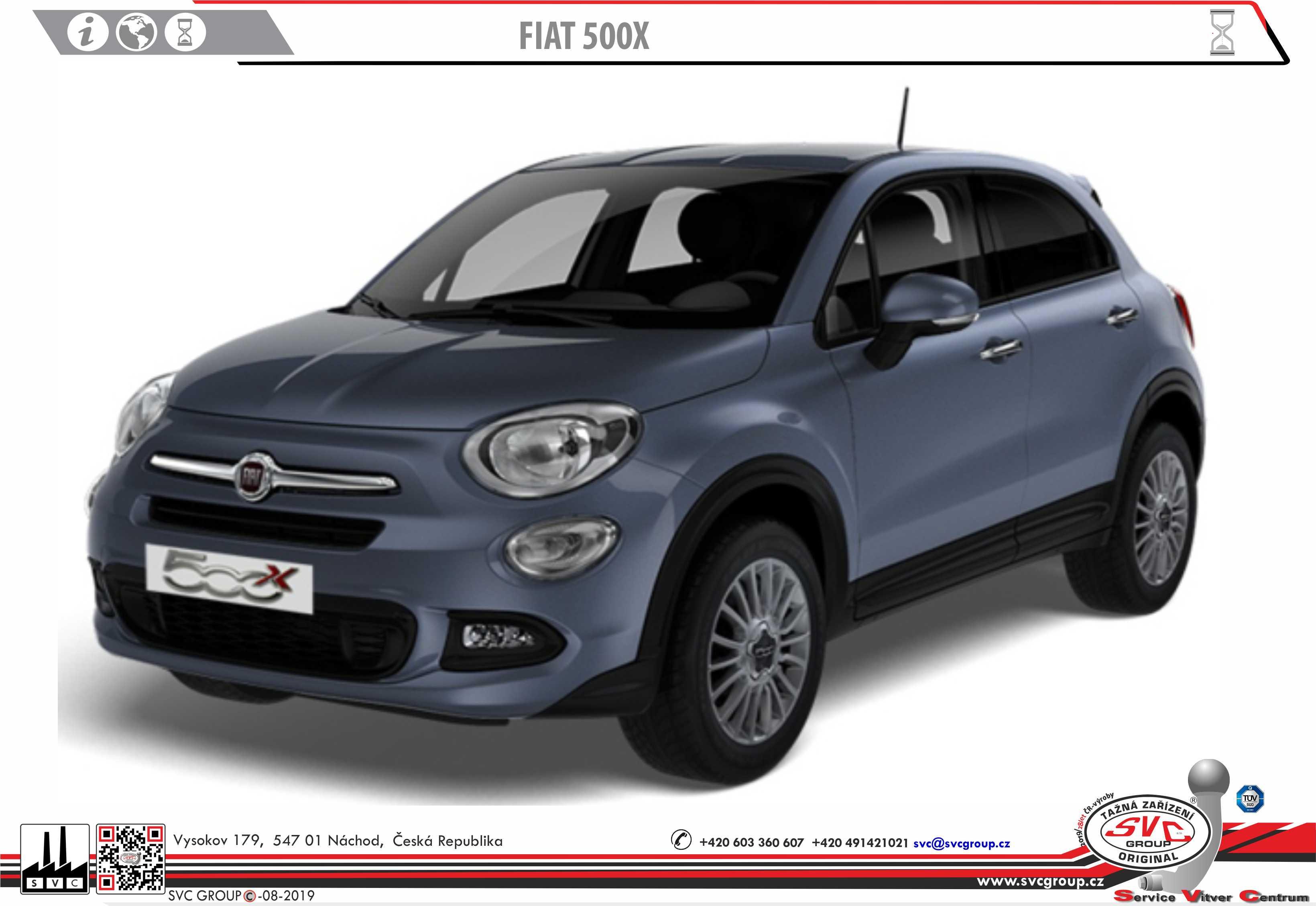 Fiat 500X + City Look