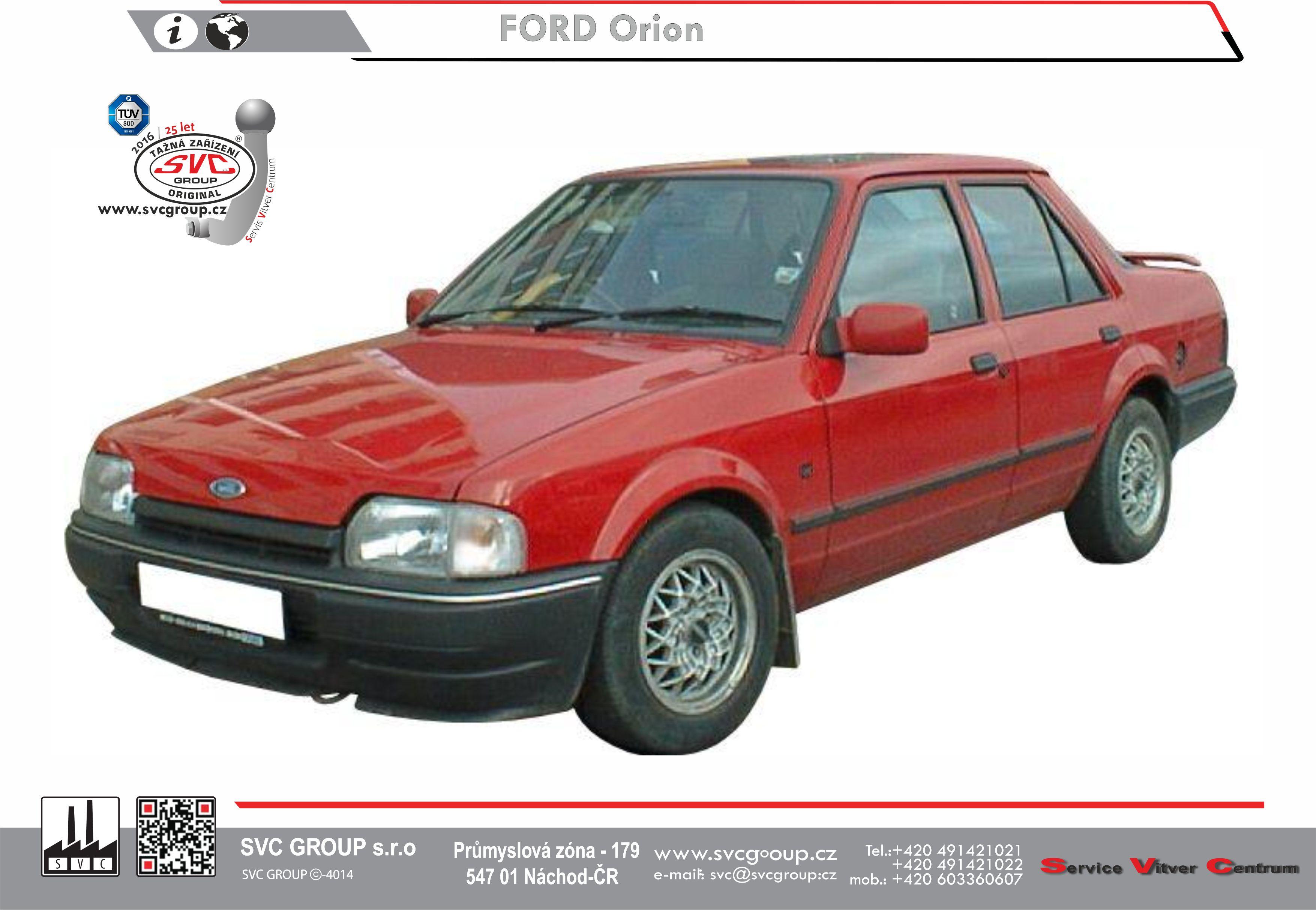 Ford Escort + Orion Sedan