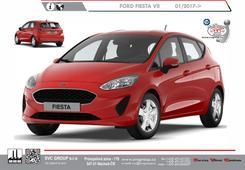 Ford Fiesta Hatchback Kód vozu: M7 Rok výroby: 07/2017 -> Výrobce tažných zařízení SVC GROUP