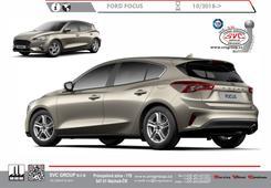 Ford Focus Tažné zařízení Rok výroby: 11 / 2018 Výrobce tažných zařízení SVC GROUP