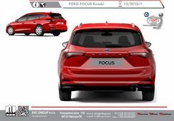 Ford Focus Combi tažný zařízení
