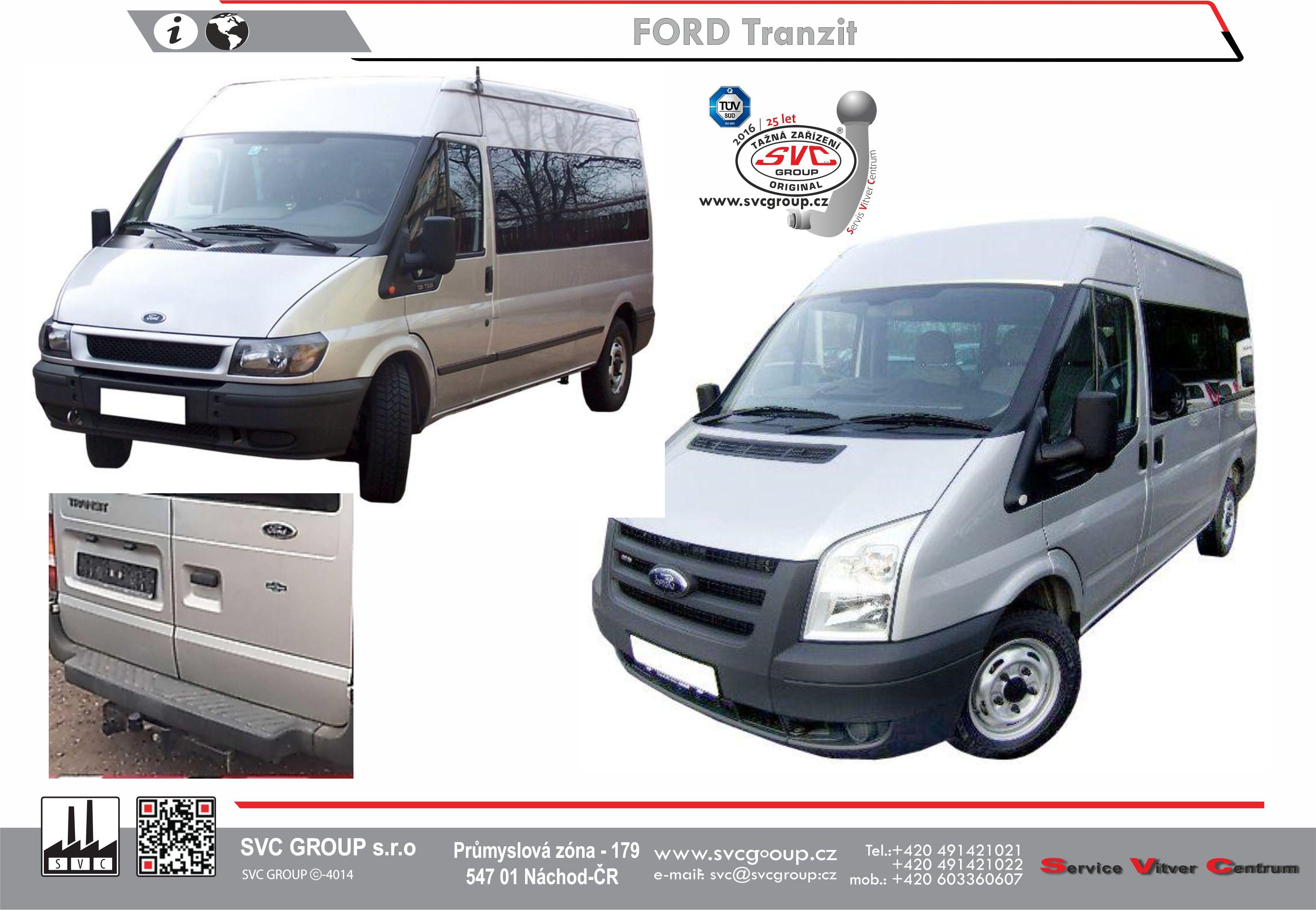 Ford TRANSIT S nástupním schůdkem