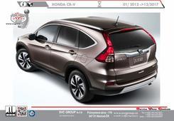 Honda CRV tažné zařízení  01/ 2012 ->12/2017 Výrobce tažných zařízení SVC GROUP