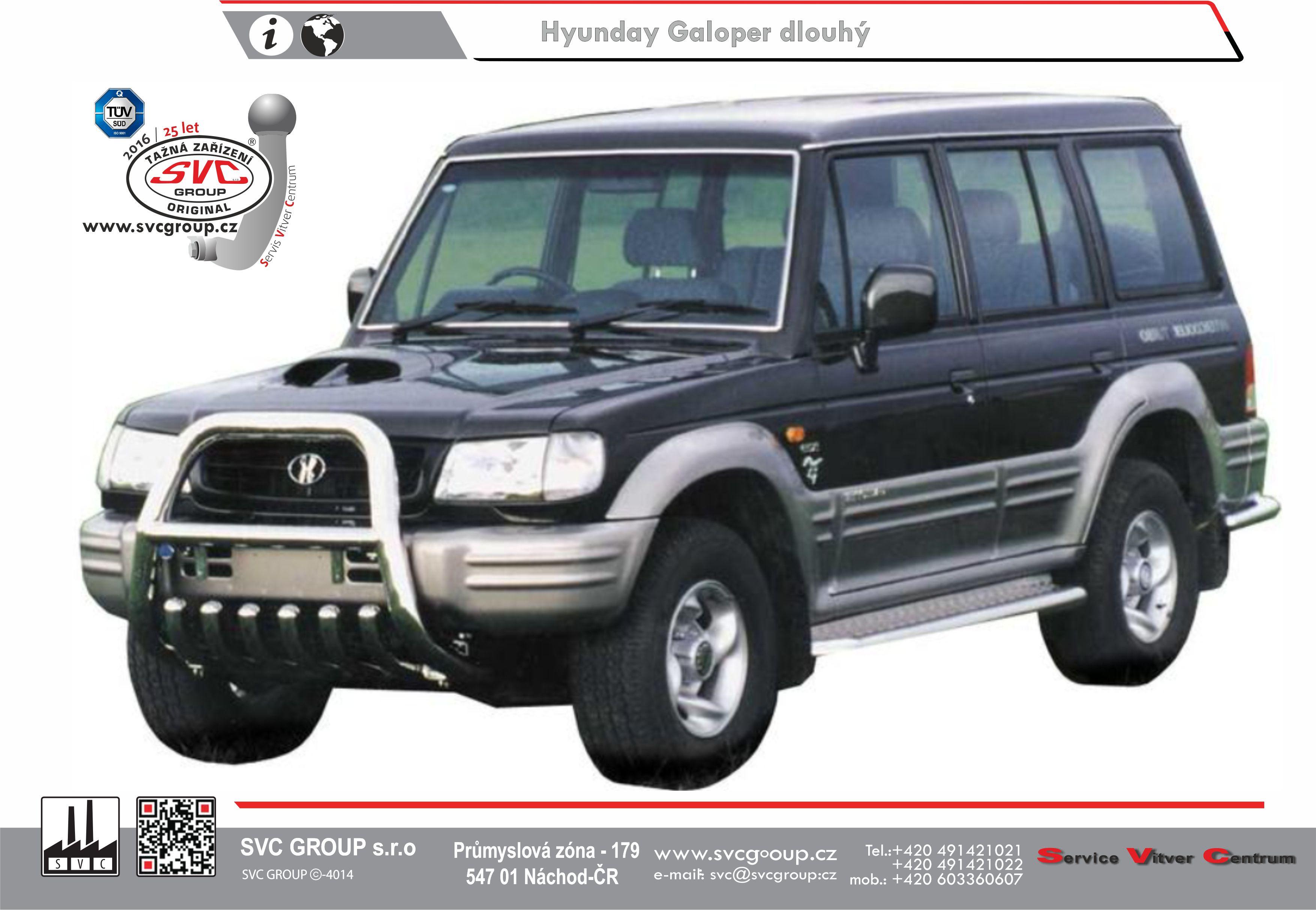 Hyundai Galloper 5 dvéřový - Dlouhý