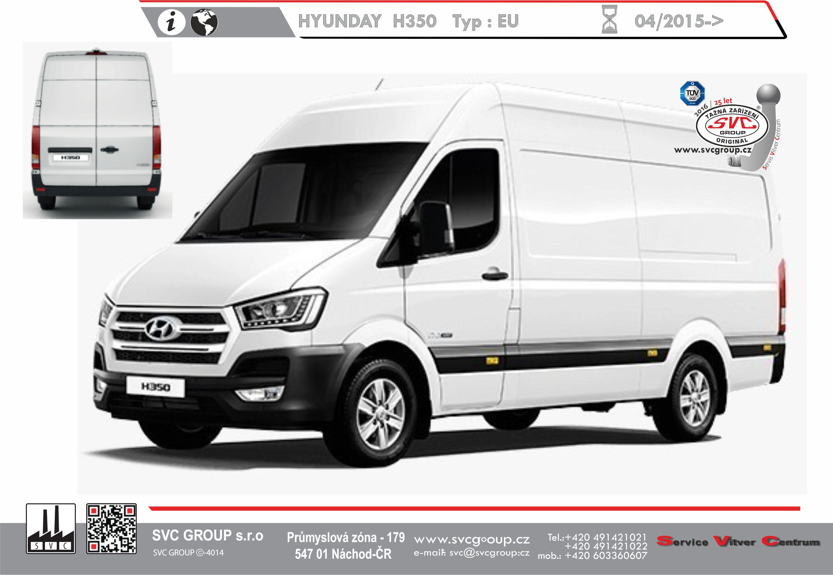 Hyundai H 350 Dodávky / BUS