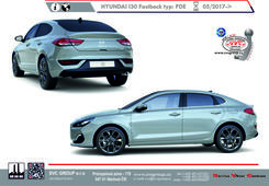 Hyundai i30  Fastback Rok výroby: 05/2017-> Výrobce tažných zařízení SVC GROUP