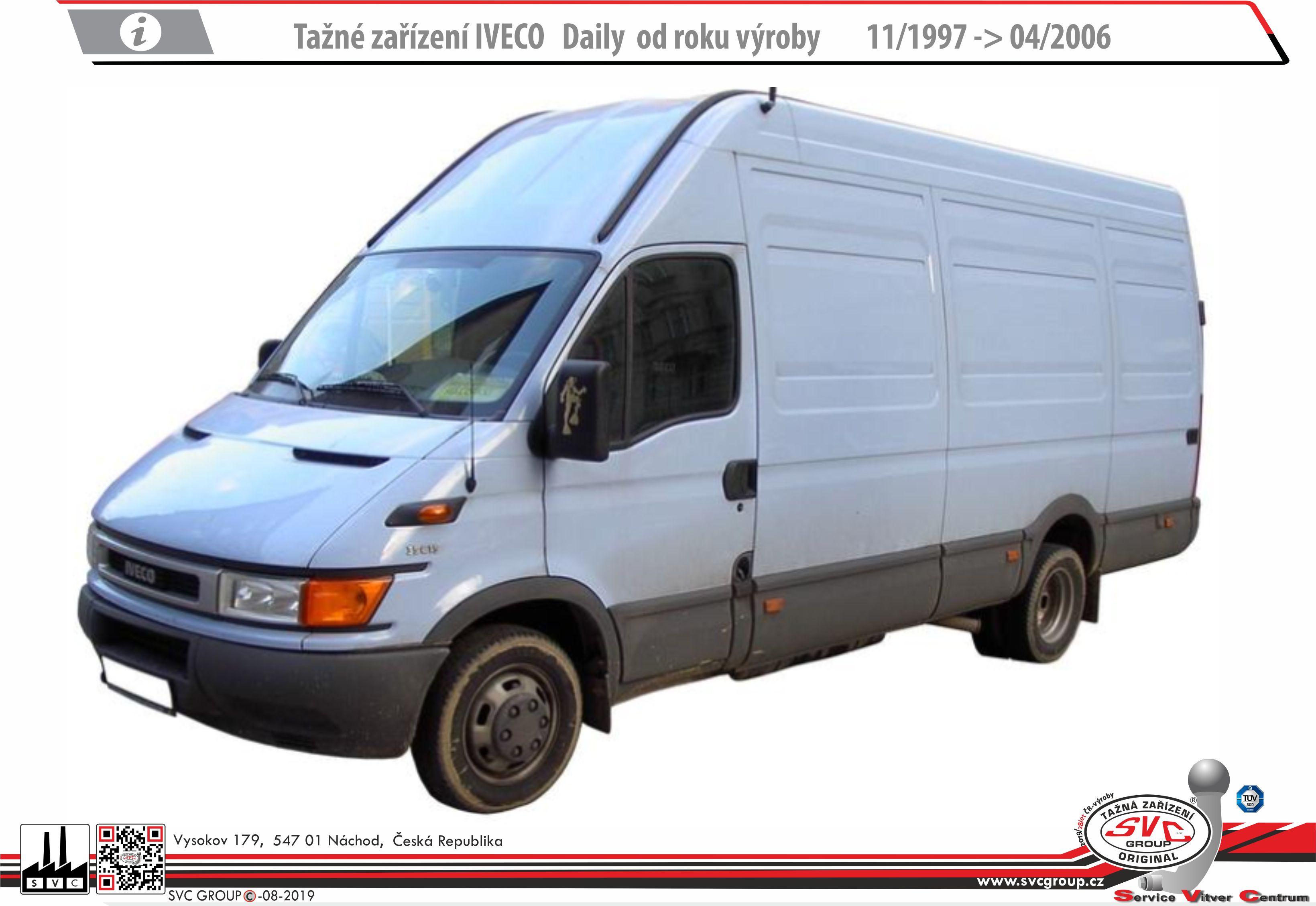 Iveco Daily 29L<->35S + Valník