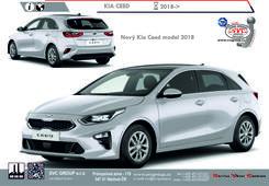 Kia Ceed Hatchback Comfort, Cool, Exclusive Kód vozu: CD Rok výroby: 07/2018 - Výrobce tažných zařízení SVC GROUP