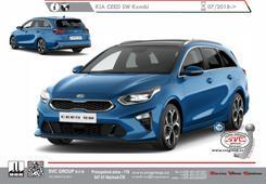 Kia Ceed Kombi né GT Line Kód vozu: CD Rok výroby: 07/2018-> Výrobce tažných zařízení SVC GROUP