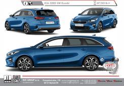 Kia Ceed Kombi Rok výroby: 07/2018-> Výrobce tažných zařízení SVC GROUP