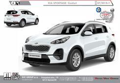 Kia Sportage  Rok výroby: 07/2018-> Výrobce tažných zařízení SVC GROUP