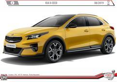 Kia X-ceed  Rok výroby: 08/2019-> Výrobce tažných zařízení SVC GROUP