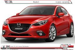 Mazda 3 11/2013-10/2019