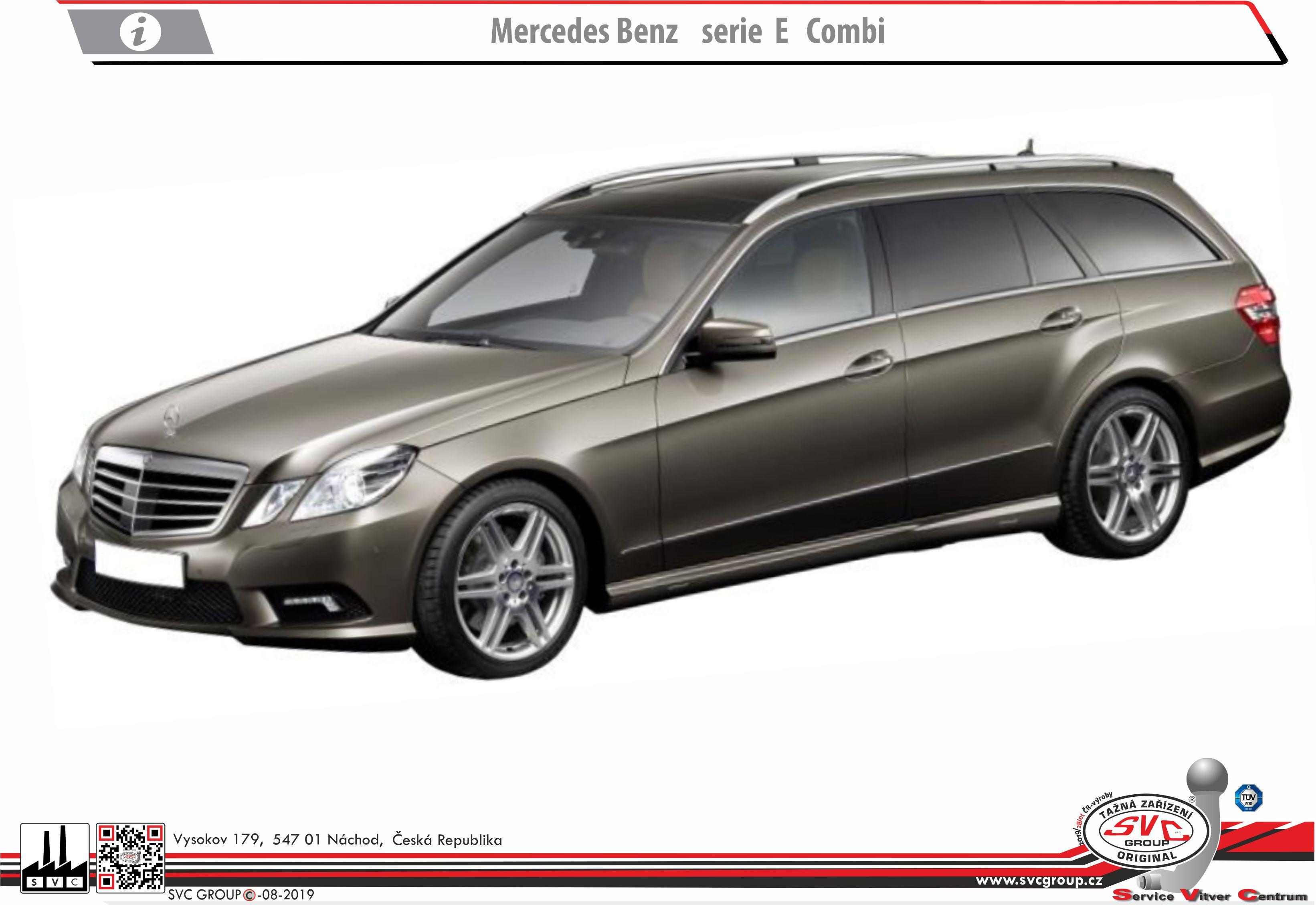Mercedes E  Třída Kombi