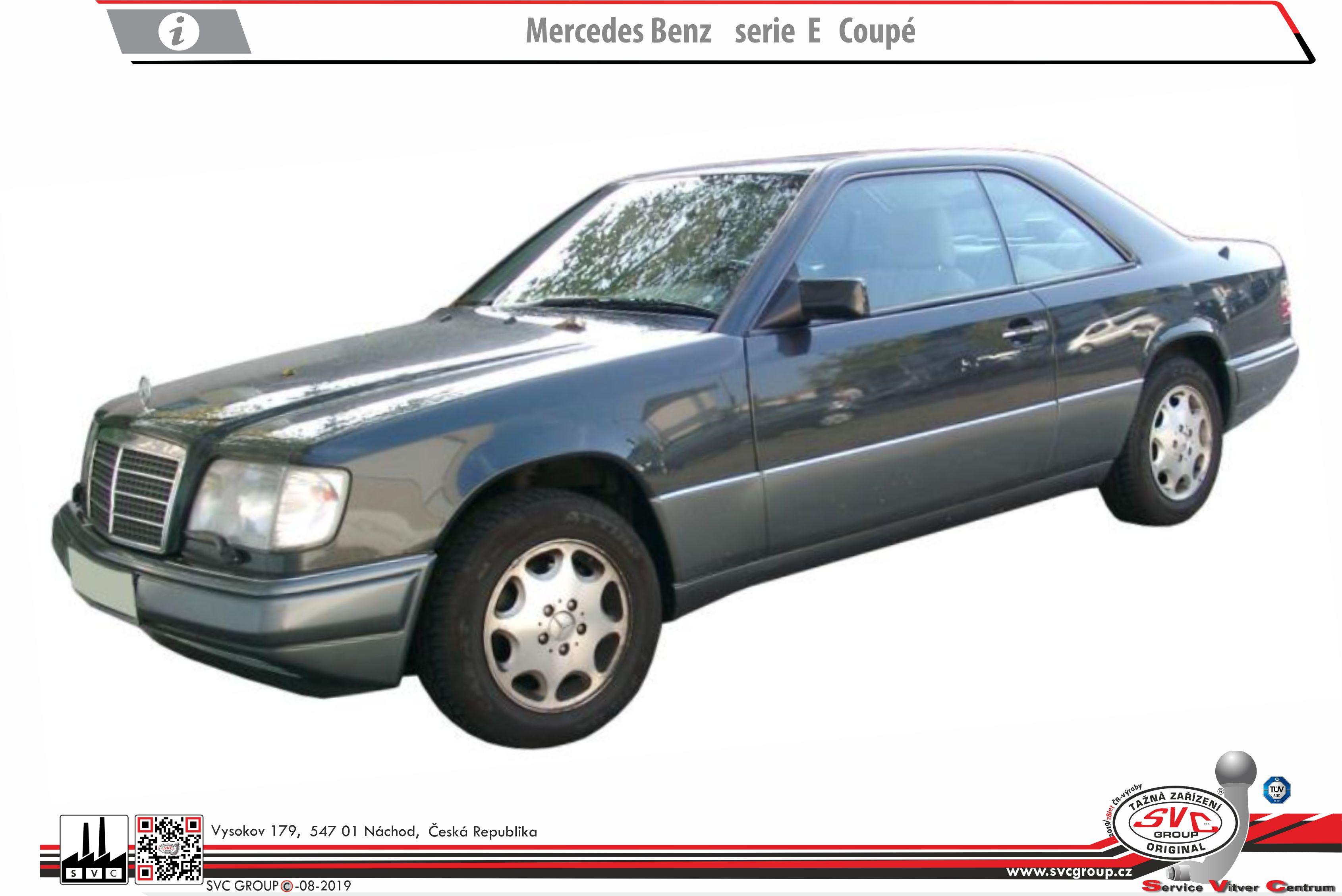 Mercedes E  Třída Kupé