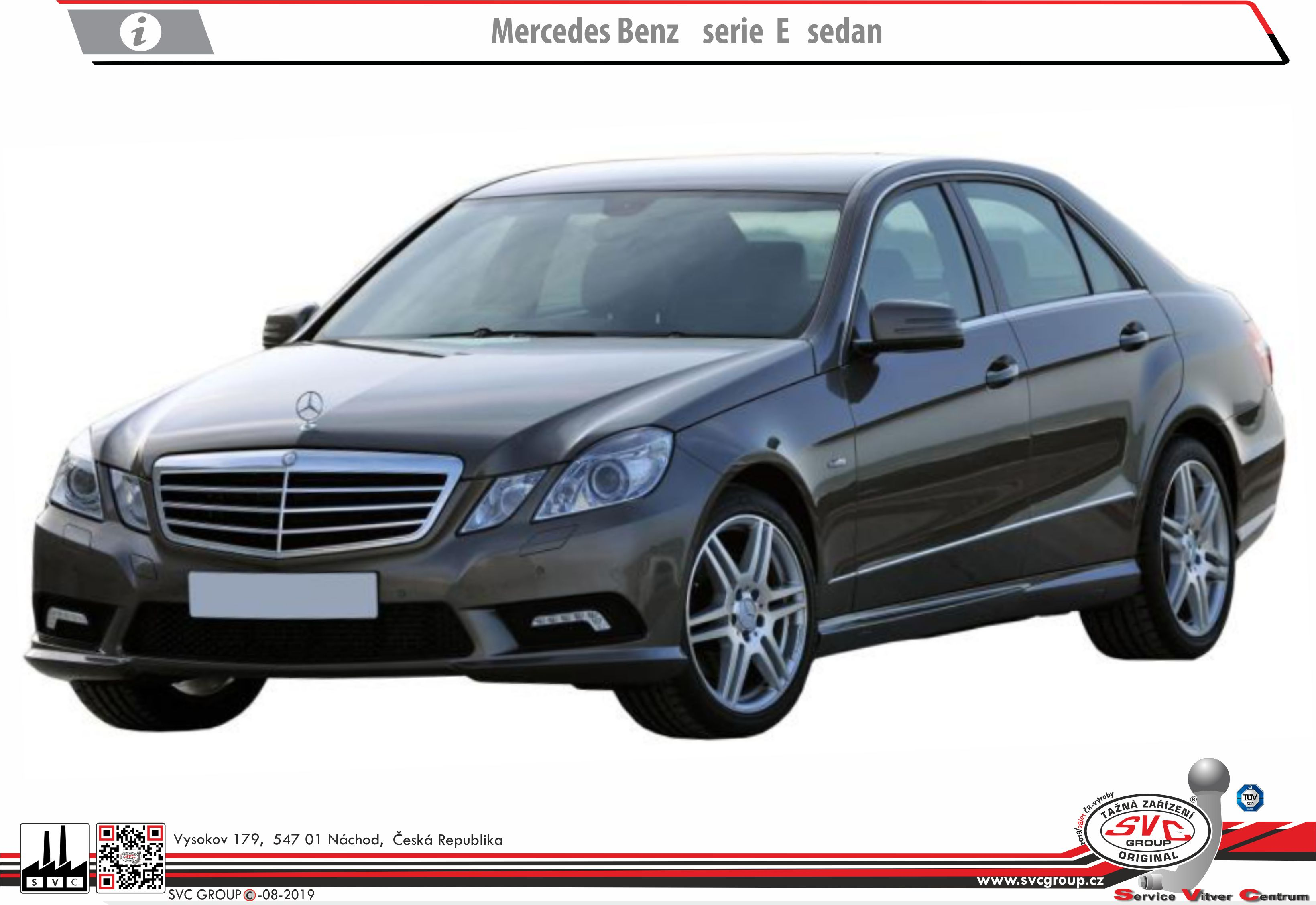 Mercedes E  Třída Sedan