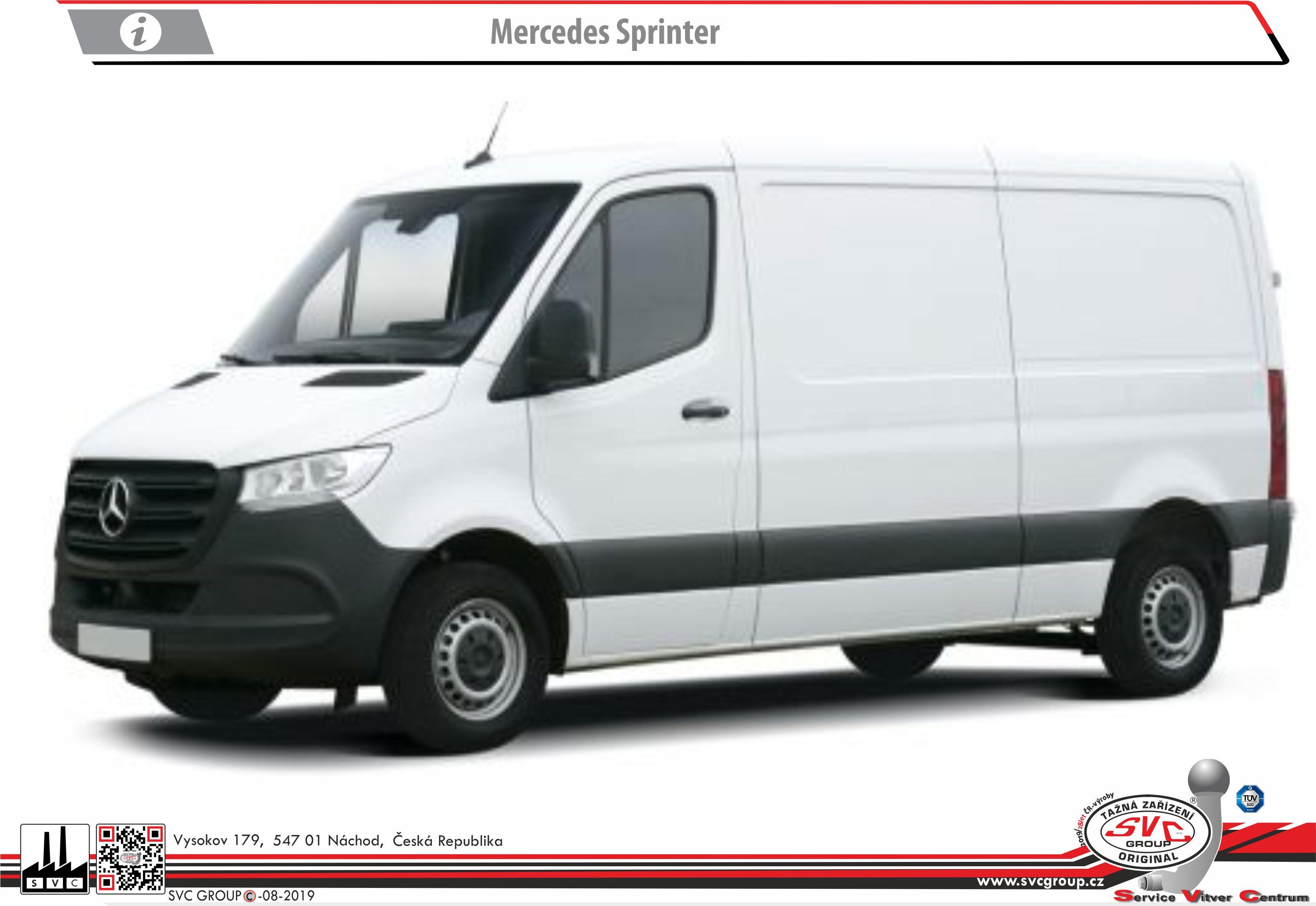 Mercedes Sprinter Dodávka/Bus