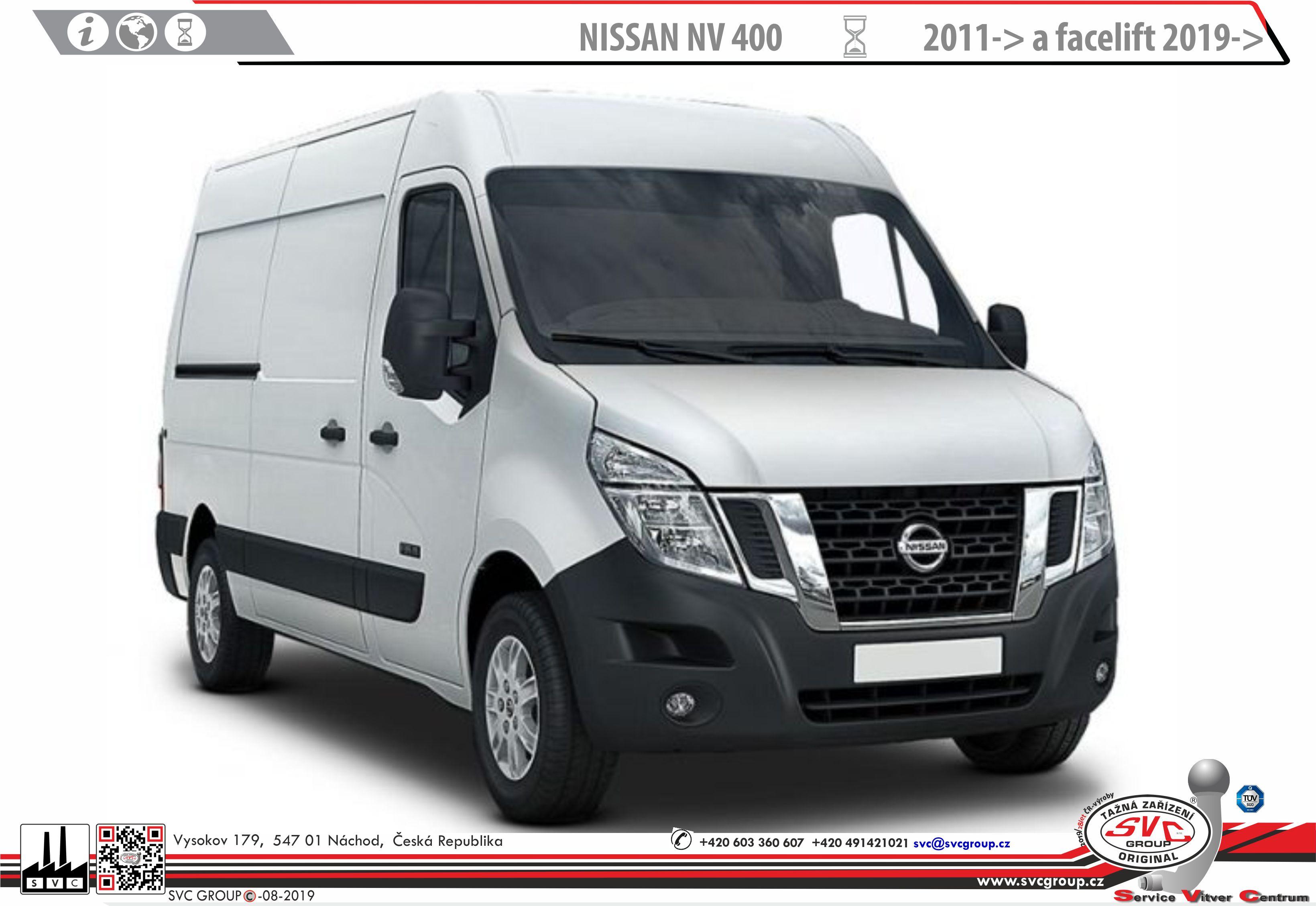 Nissan Interstar Dodávka/Bus