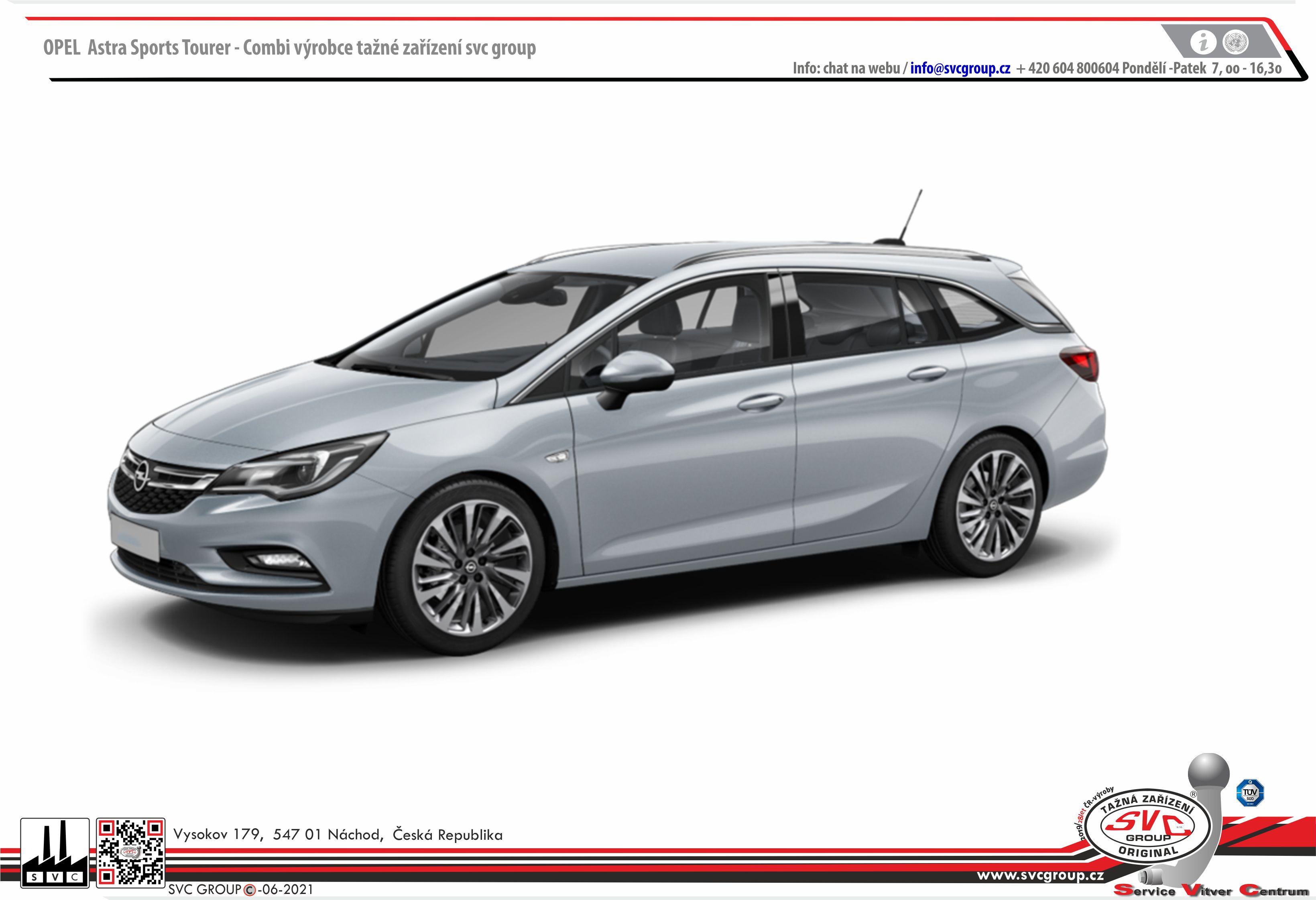 Opel Astra K - Kombi