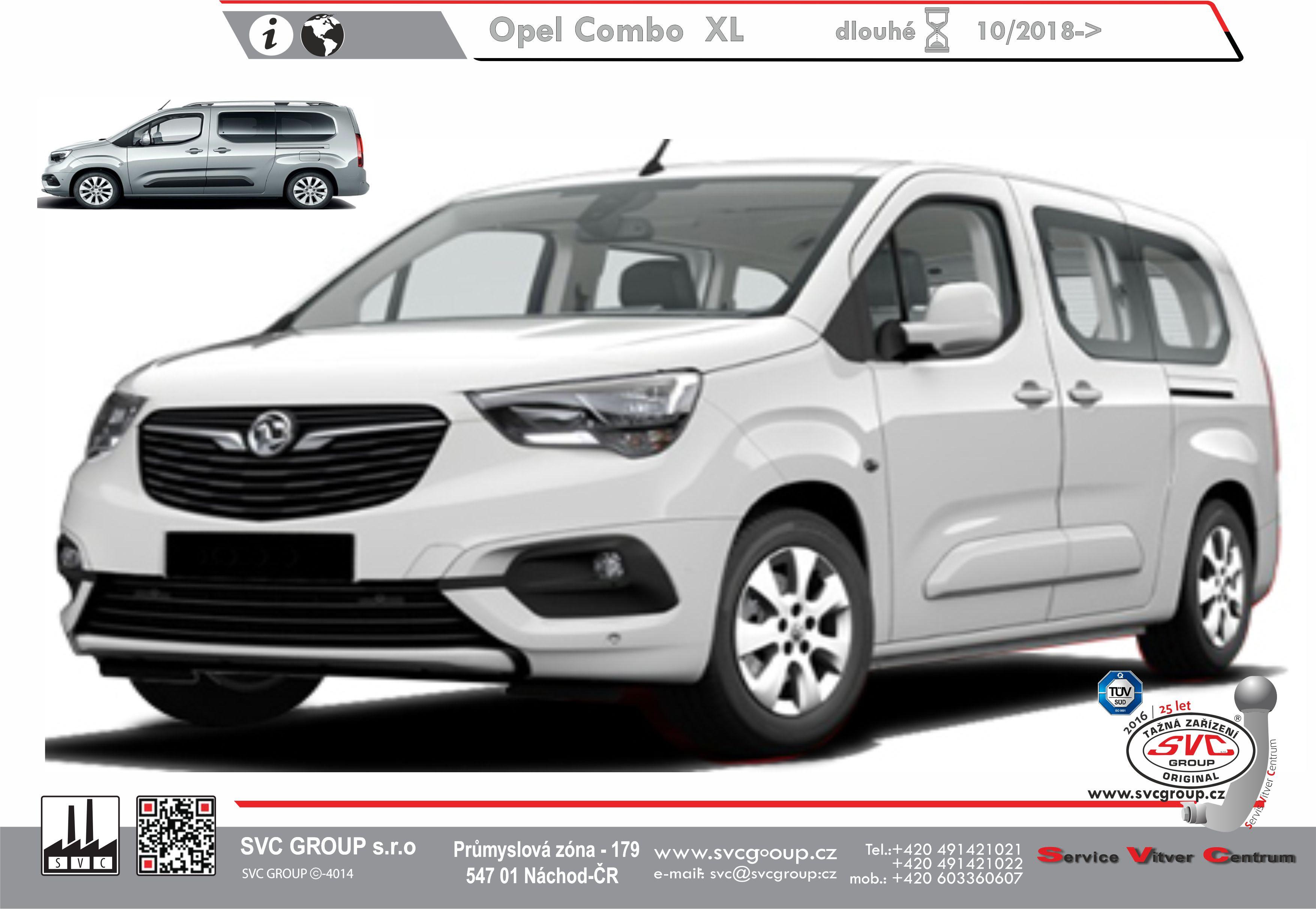 Opel Combo L2 Prodloužené