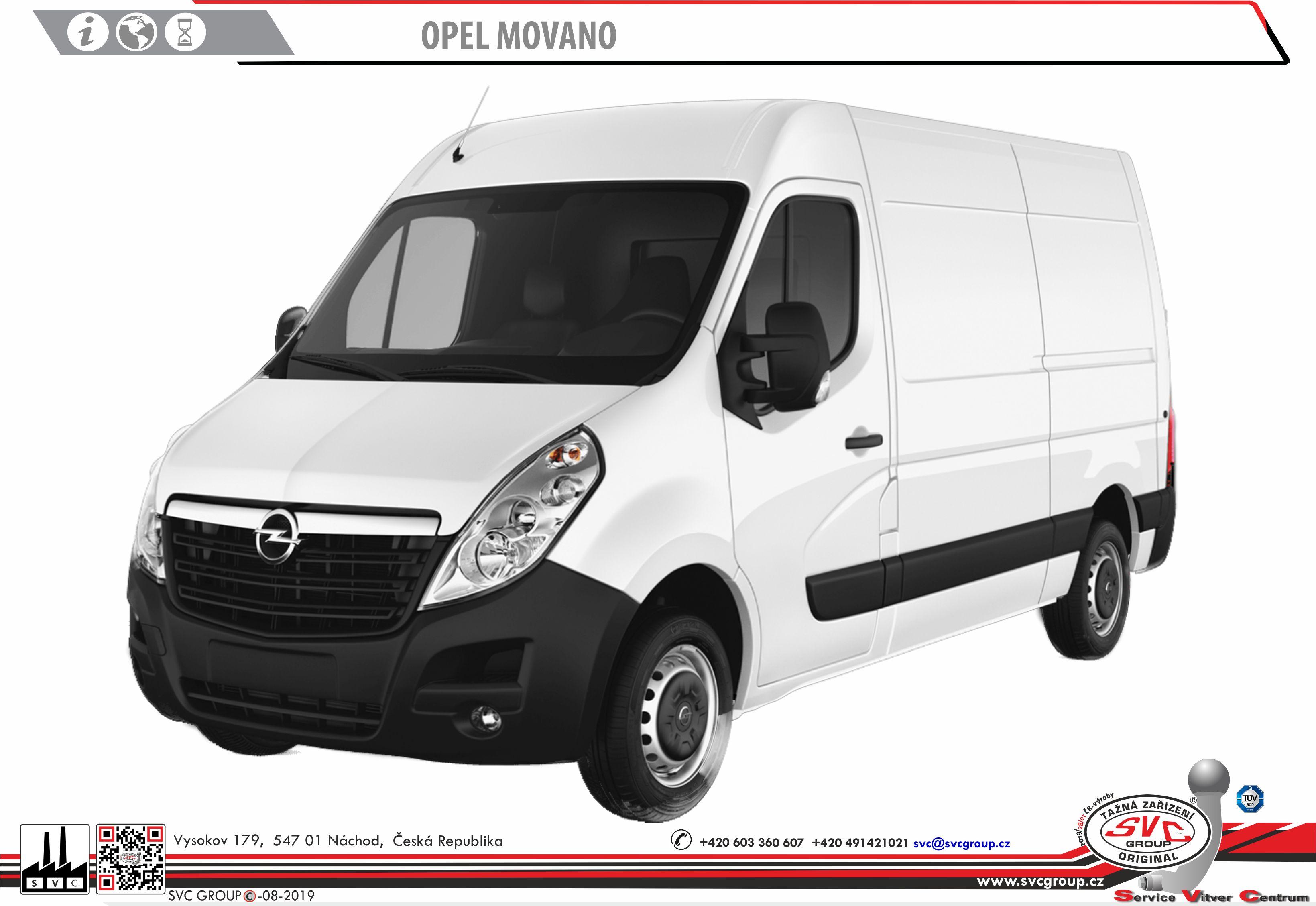 Opel Movano Dodávka/Bus