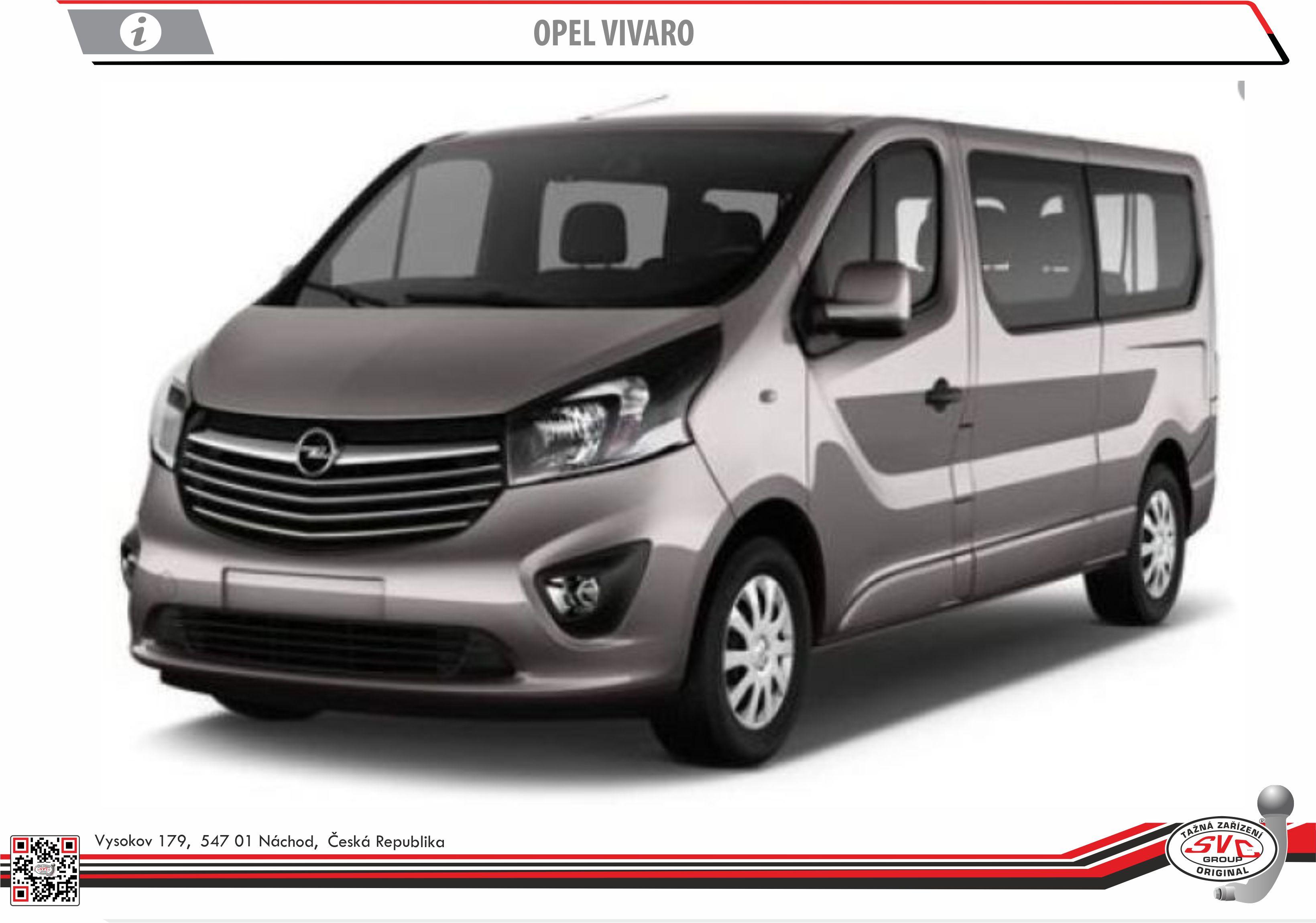 Opel Vivaro Dodávka/Bus