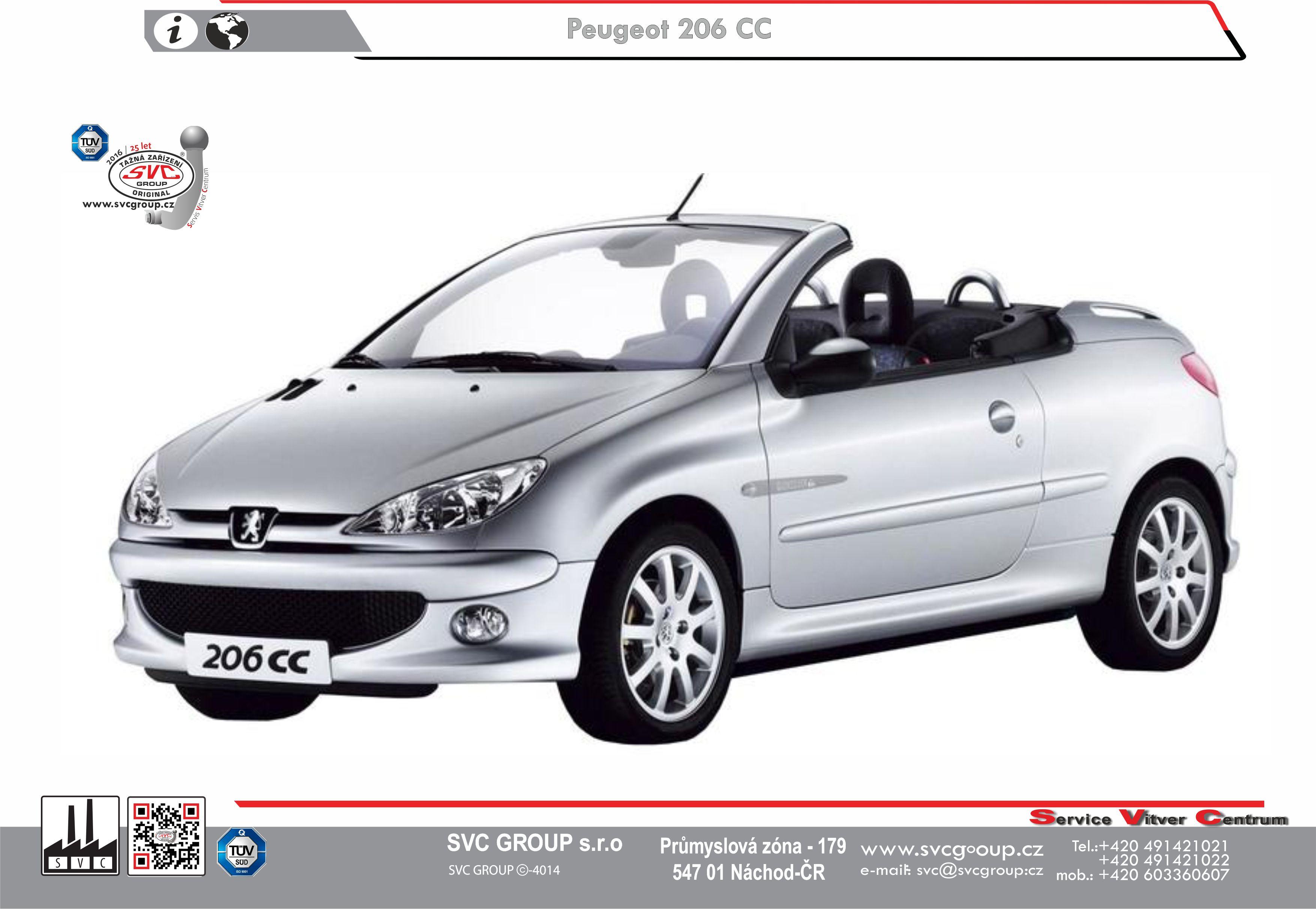 Peugeot 206 CC - Kabriolet