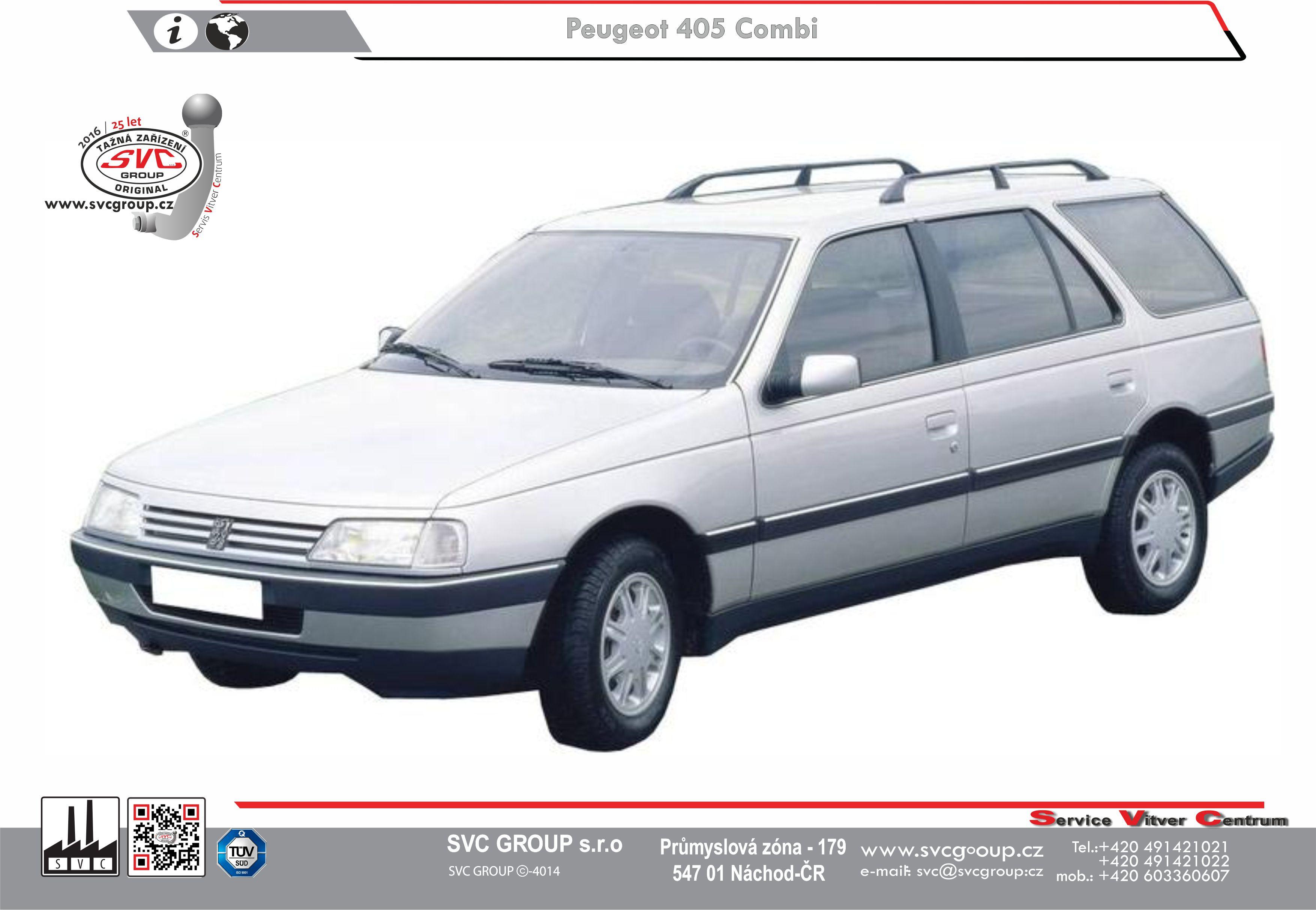 Peugeot 405 Kombi