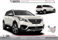 Peugeot 5008  Kód vozu: M4/MC/MJ/MR Rok výroby: 03/ 2017 -> Výrobce tažných zařízení SVC GROUP