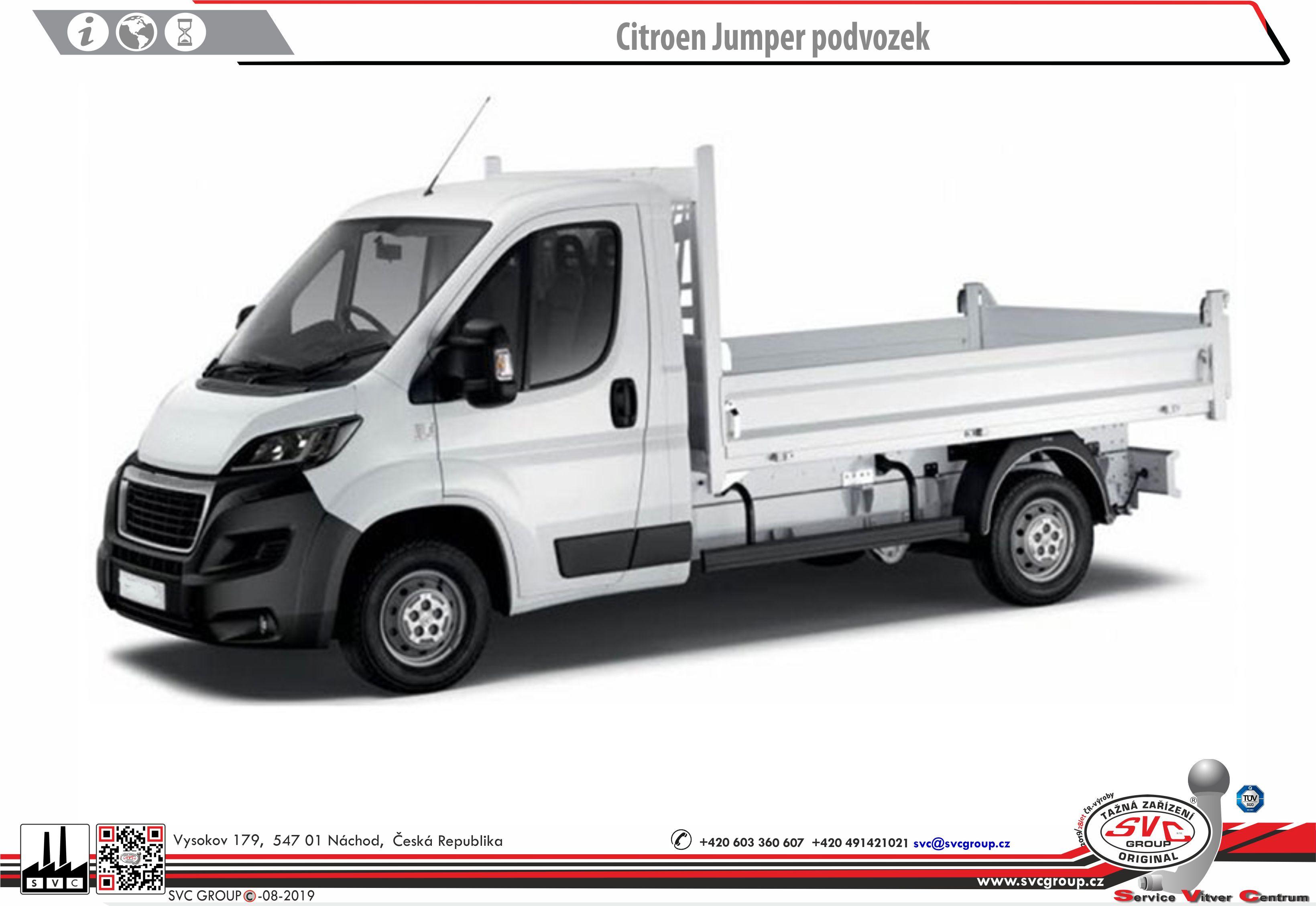 Peugeot Boxer Valník / Podvozek