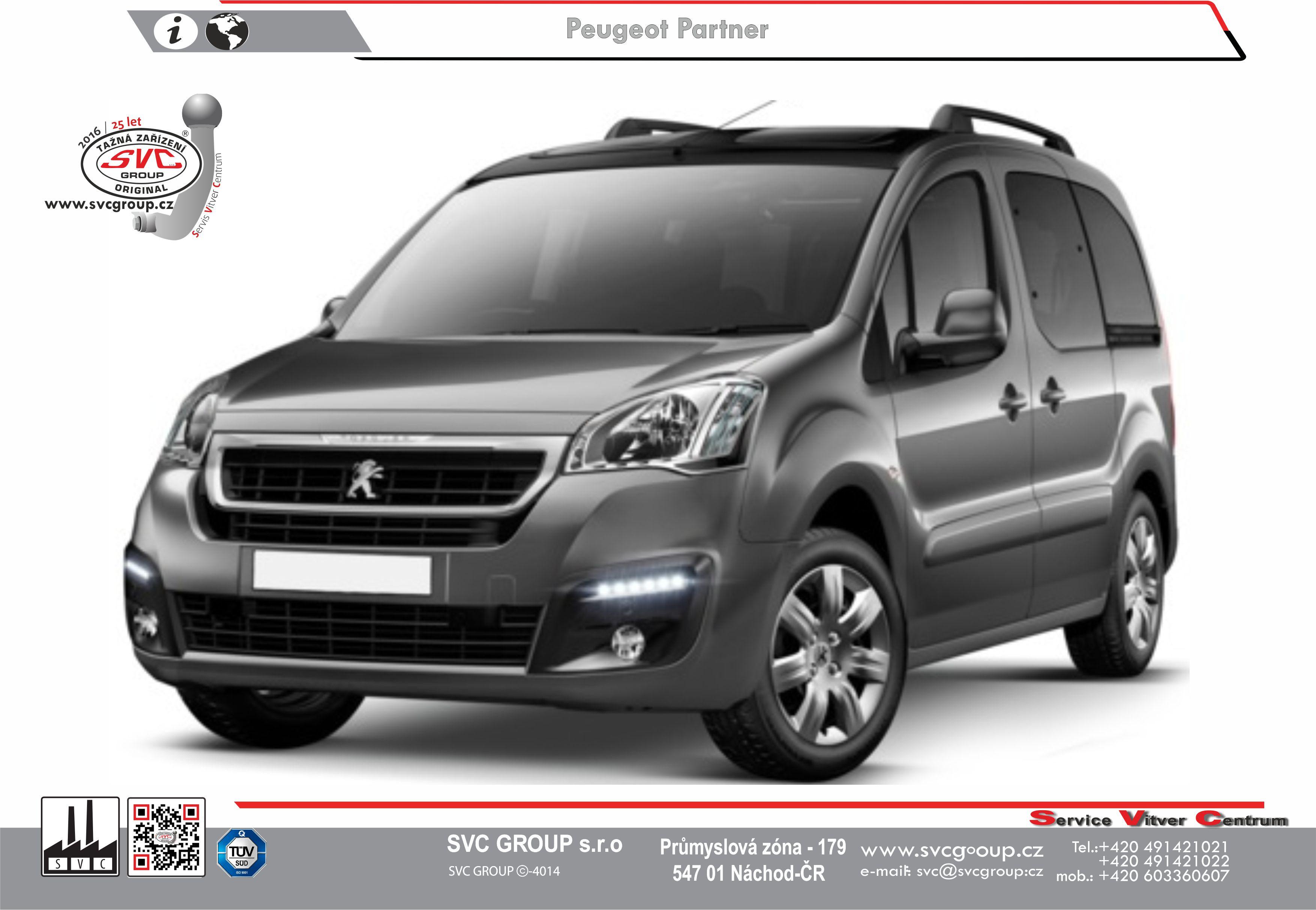 Peugeot Partner Prodloužené L2 / Long