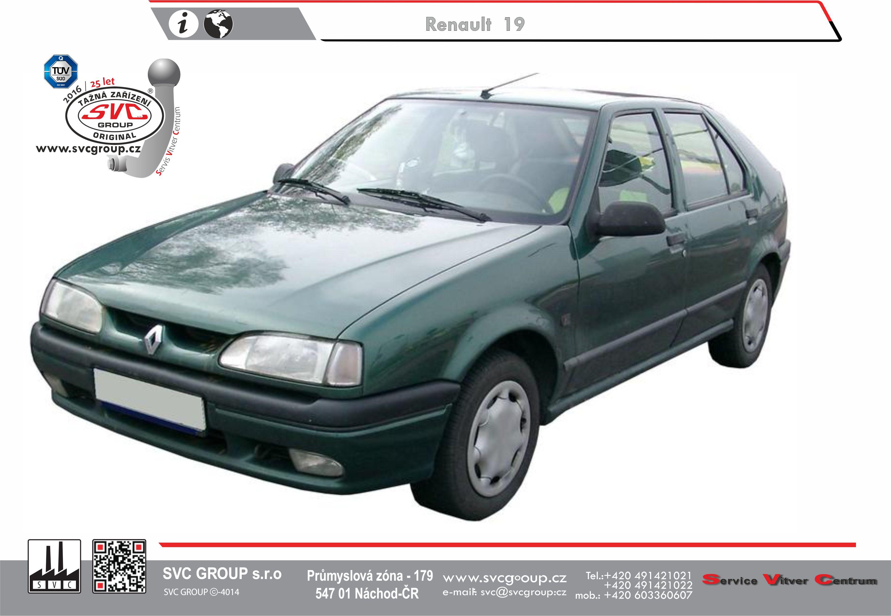 Renault 19 Hatchback+Sedan