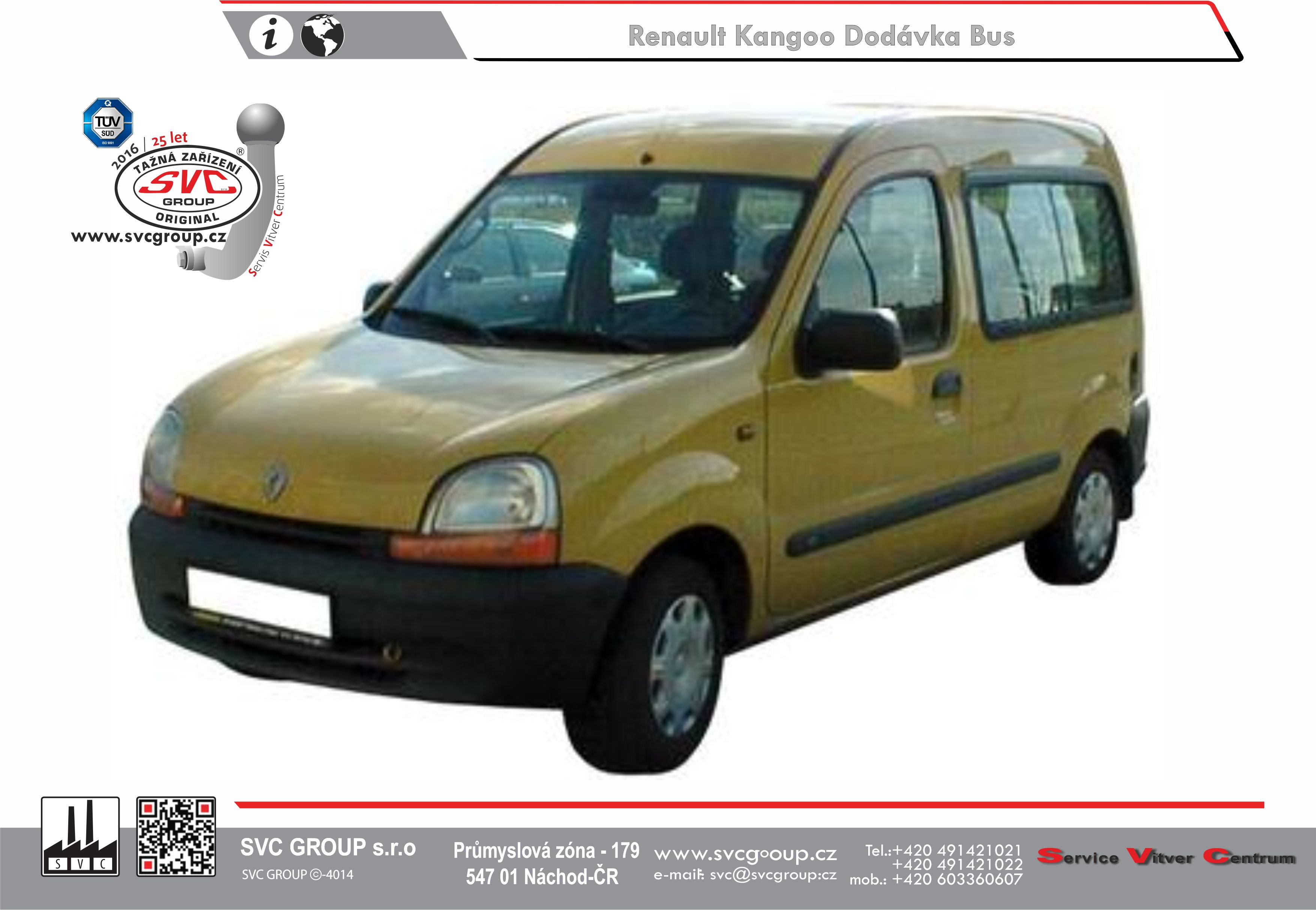 Renault Kangoo Typ I