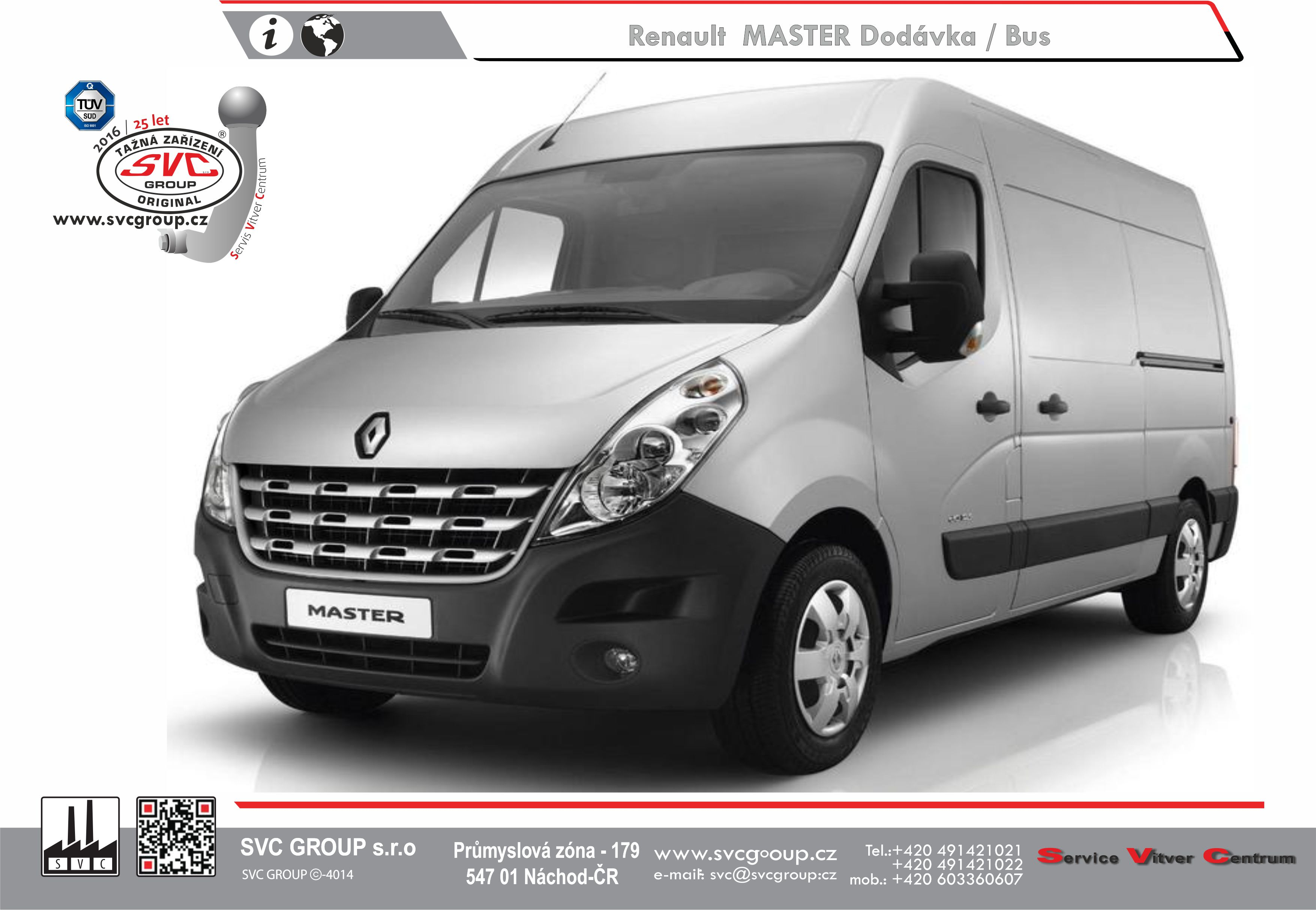 Renault Master Dodávka/Bus