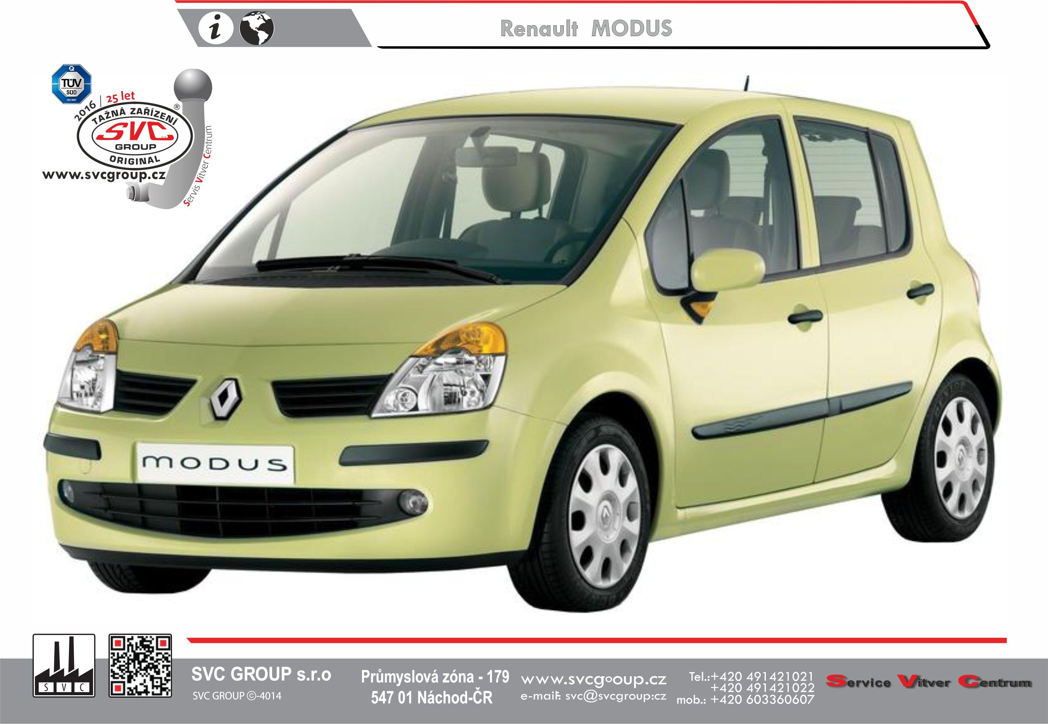 Renault Modus + Grand Modus