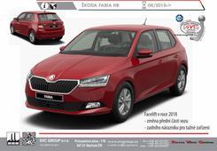 Škoda Fabia Hatchback Včetně typů vozu RS+Monte Carlo Kód vozu: FL Rok výroby: 08/ 2018 -> Výrobce tažných zařízení SVC GROUP