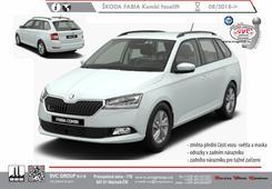 Škoda Fabia kombi +Monte Carlo+Scout. facelift MR 2019 Rok výroby: 08/2018-> Výrobce tažných zařízení SVC GROUP