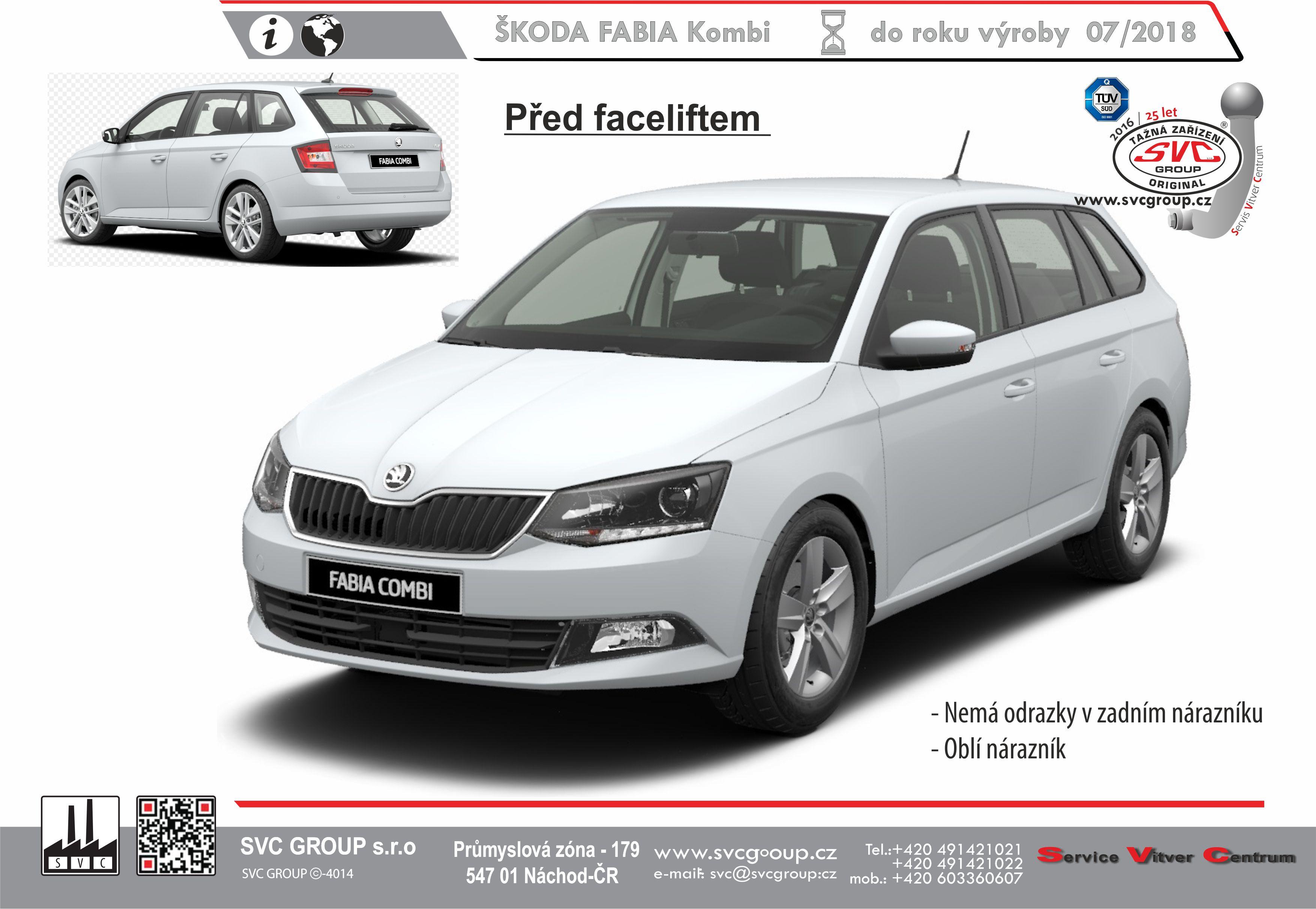 Škoda Fabia Kombi
