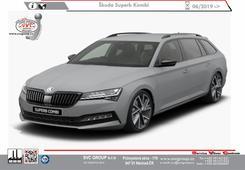 Škoda Superb Kombi vč. 4x4 + Sport Line Rok výroby: 06/  2019 -> Výrobce tažných zařízení SVC GROUP