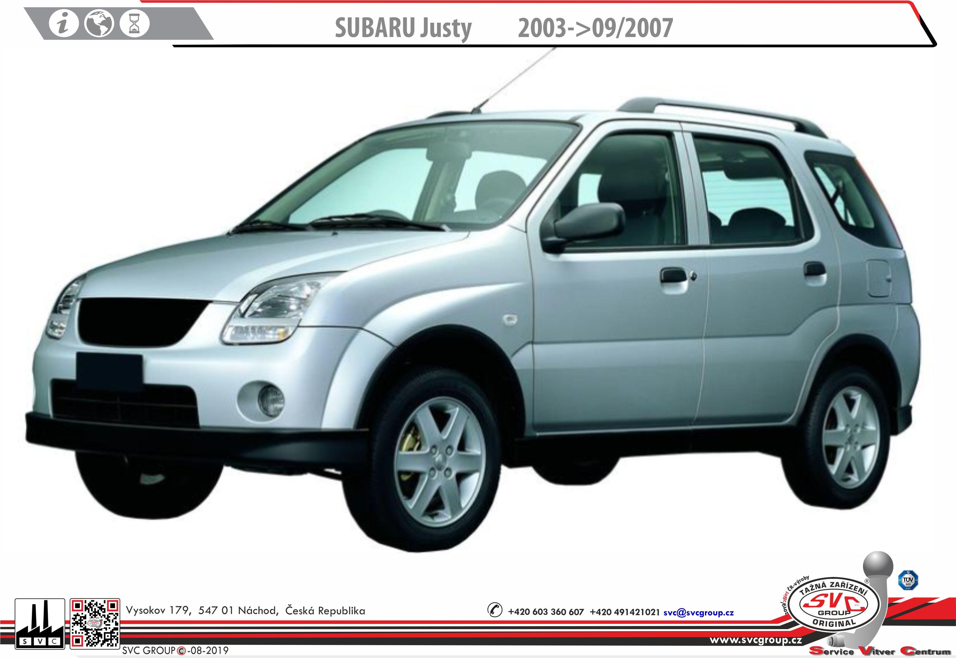 Subaru Justy Hatchback