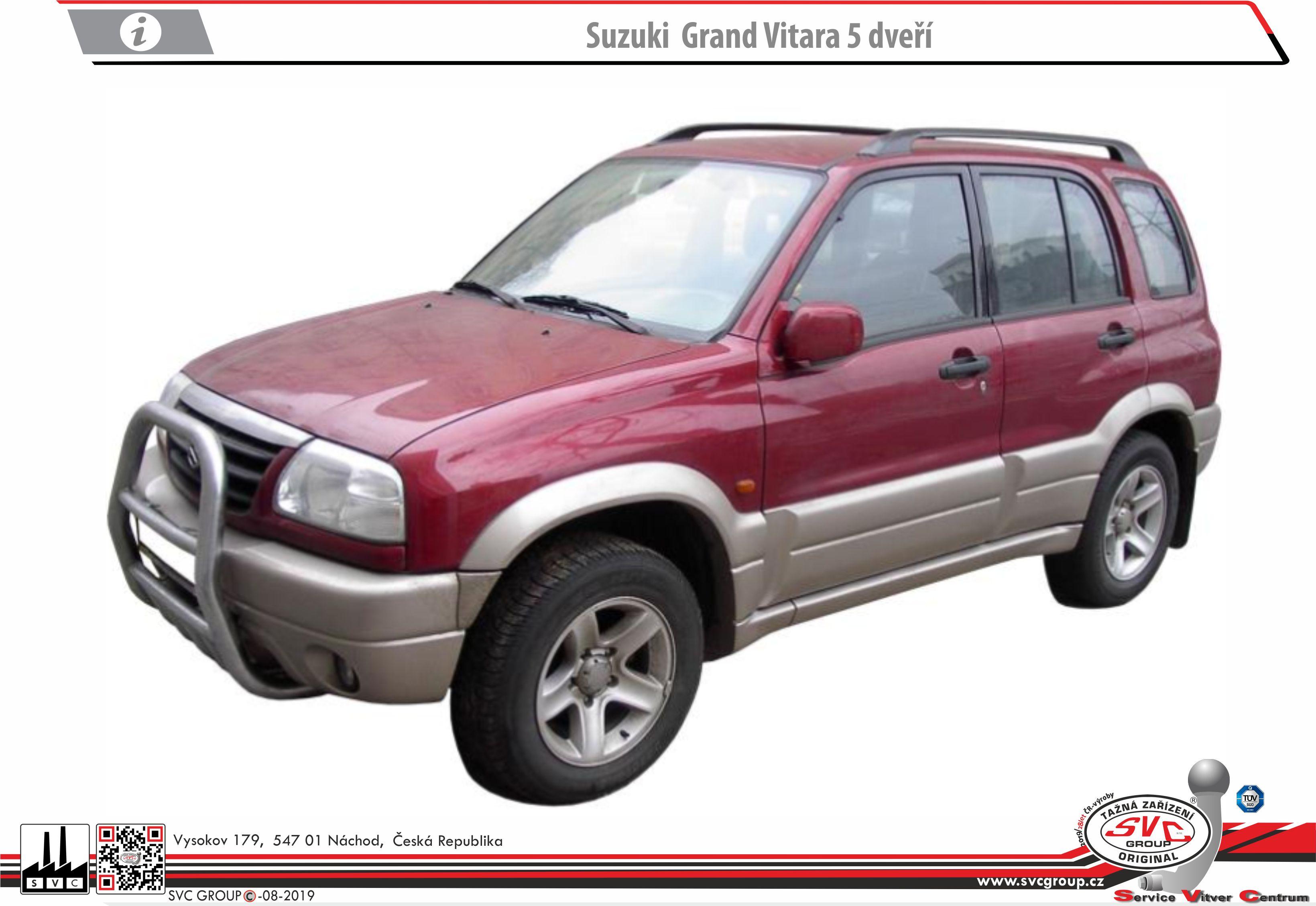 Suzuki Vitara Grand 5 Dveřové provedení