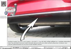 Volkswagen Golf tažné zařízení  Výrobce tažných zařízení SVC GROUP