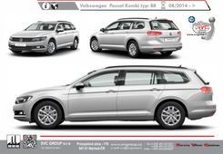 Volkswagen Passat Combi 2014-> Výrobce tažných zařízení SVC GROUP