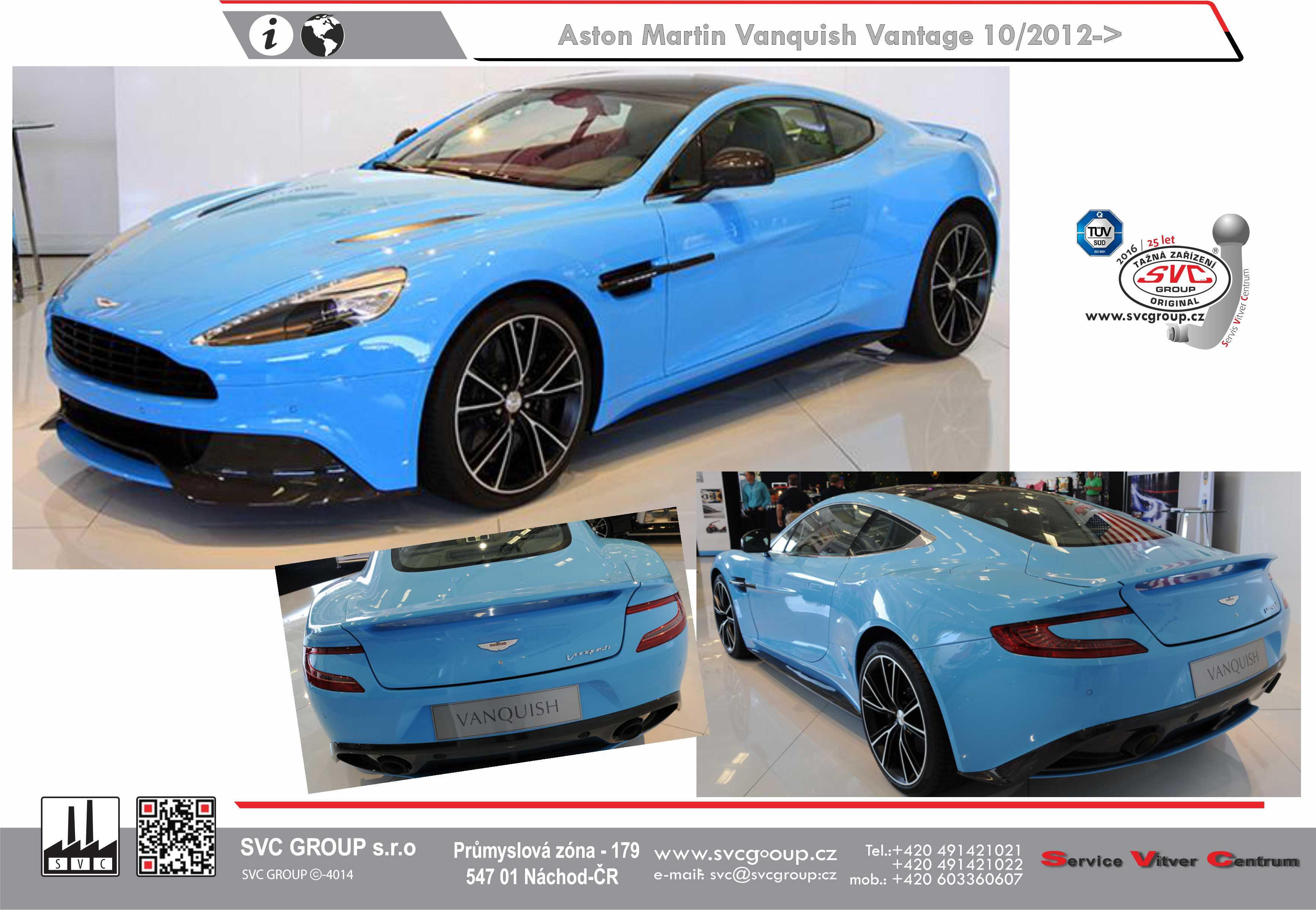 Aston Martin Vanquish Vantage Coupé