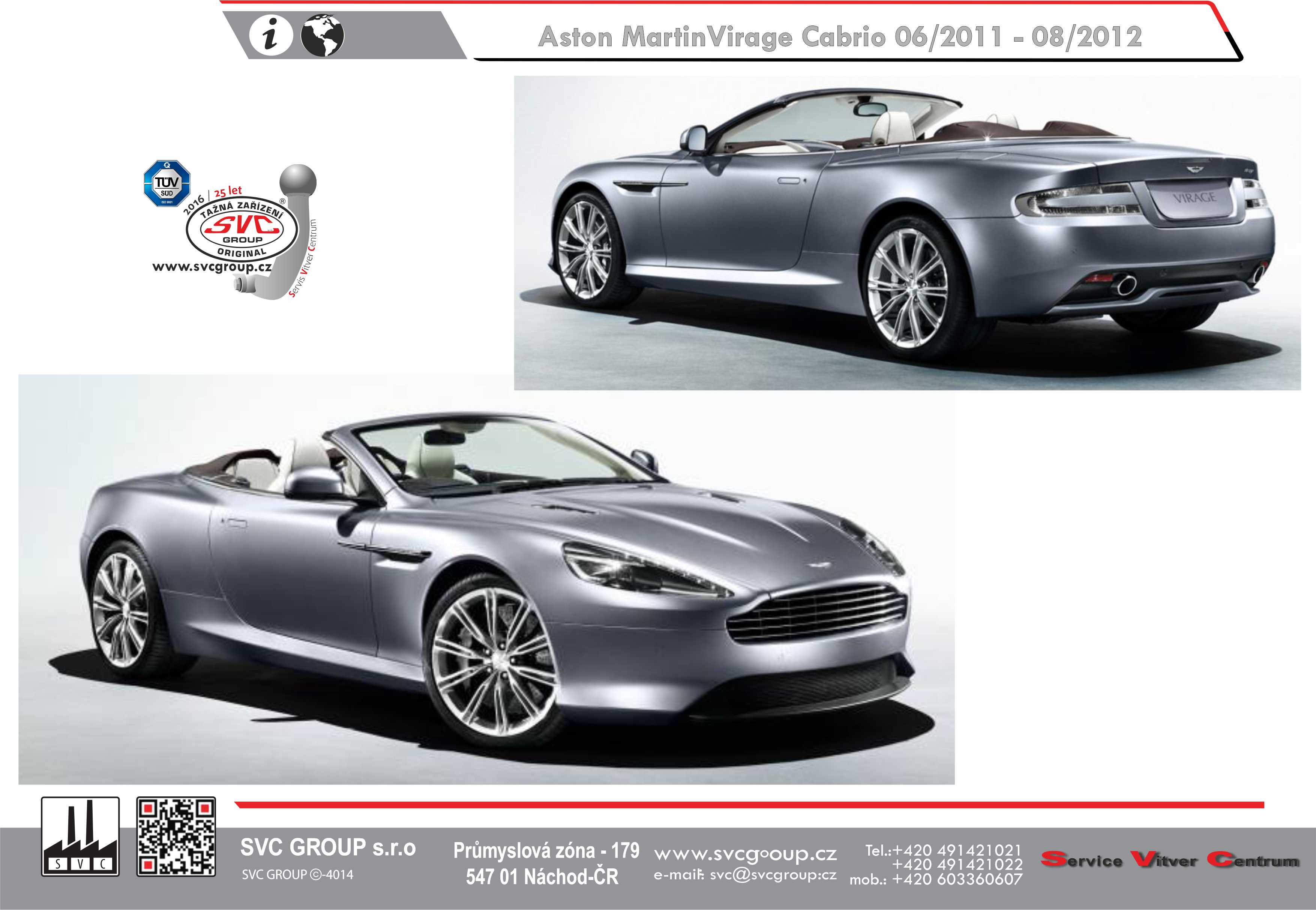 Aston Martin Virage Cabrio