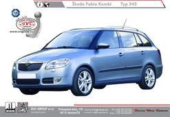 Škoda Fabia Kombi Kód vozu: 5J9 Rok výroby: 06/2010->12/2014 Výrobce tažných zařízení SVC GROUP